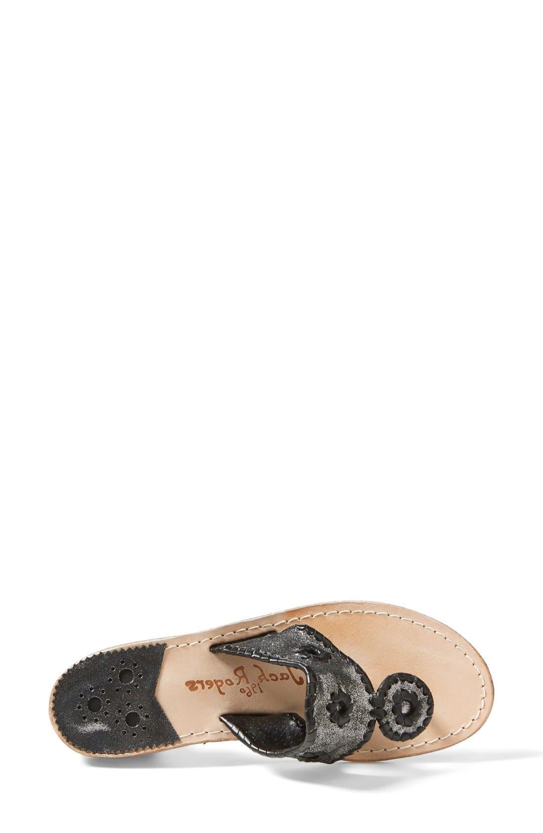Alternate Image 3  - Jack Rogers 'Stardust' Thong Sandal (Women)