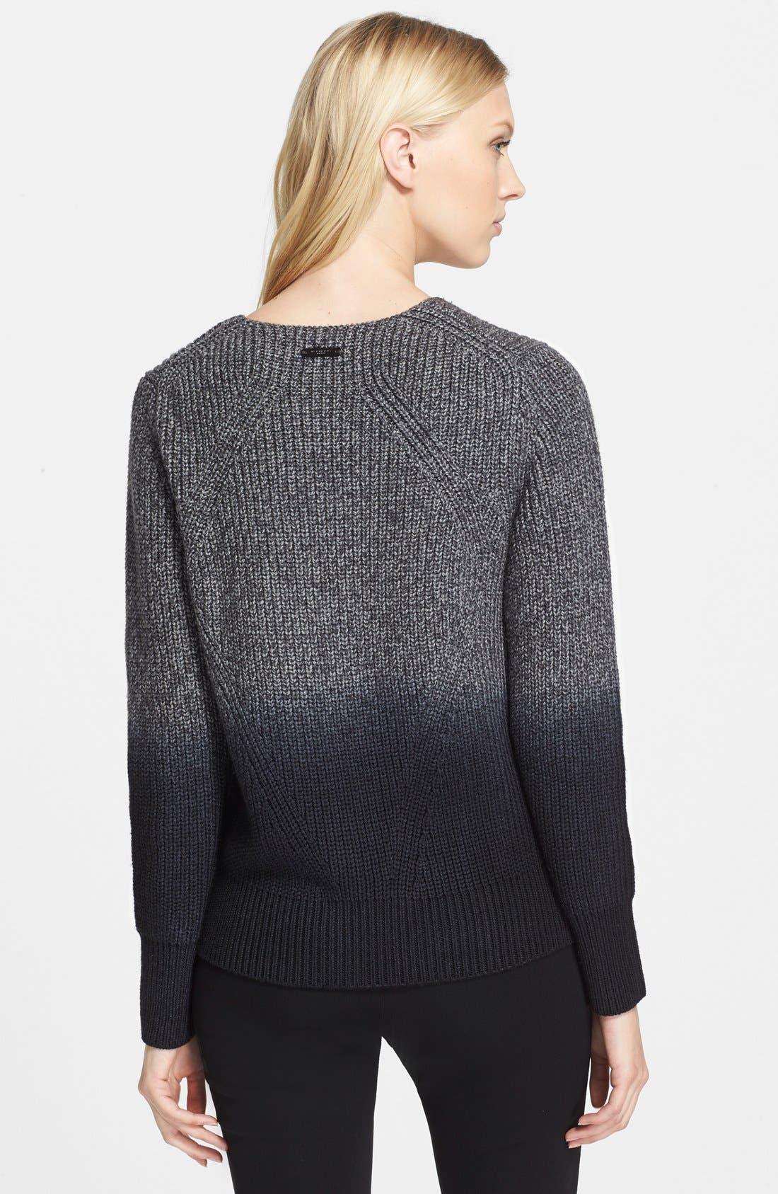 Alternate Image 2  - Burberry London Ombré Sweater