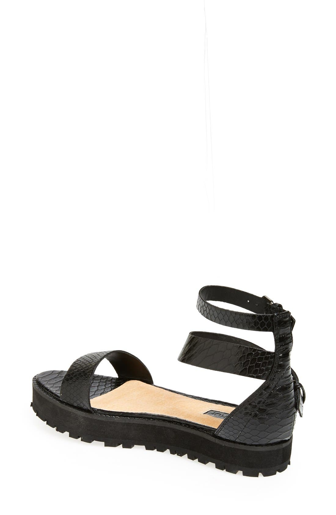 Alternate Image 2  - Topshop 'Free Tread' Sandal