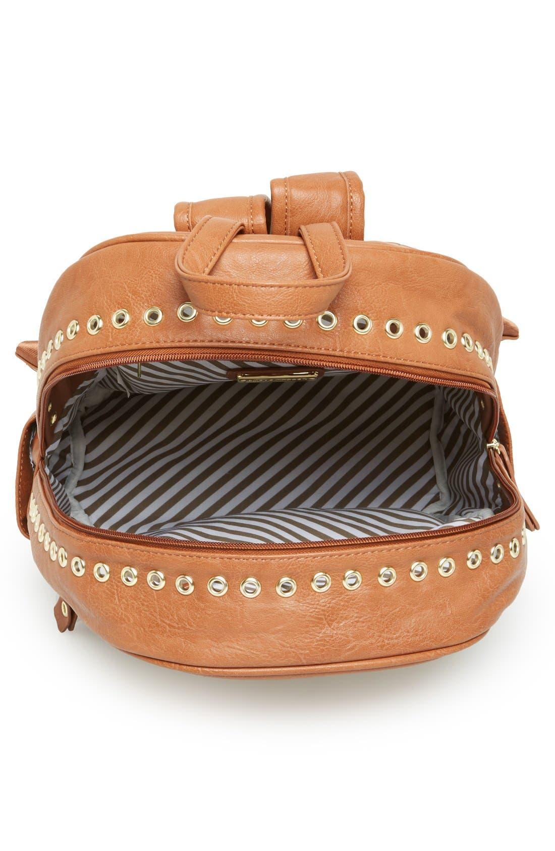 Alternate Image 3  - Steve Madden Grommet Backpack