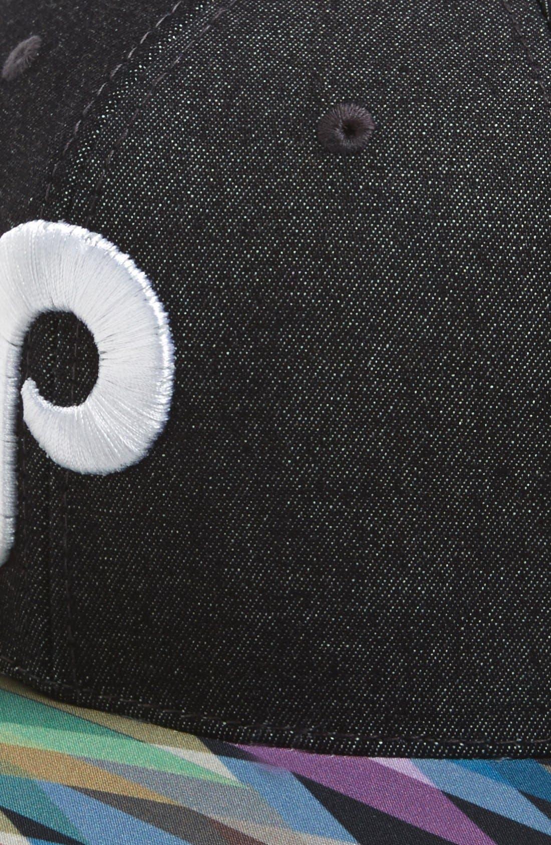 Alternate Image 2  - American Needle 'Geo Tag - Philadelphia Phillies' Baseball Cap