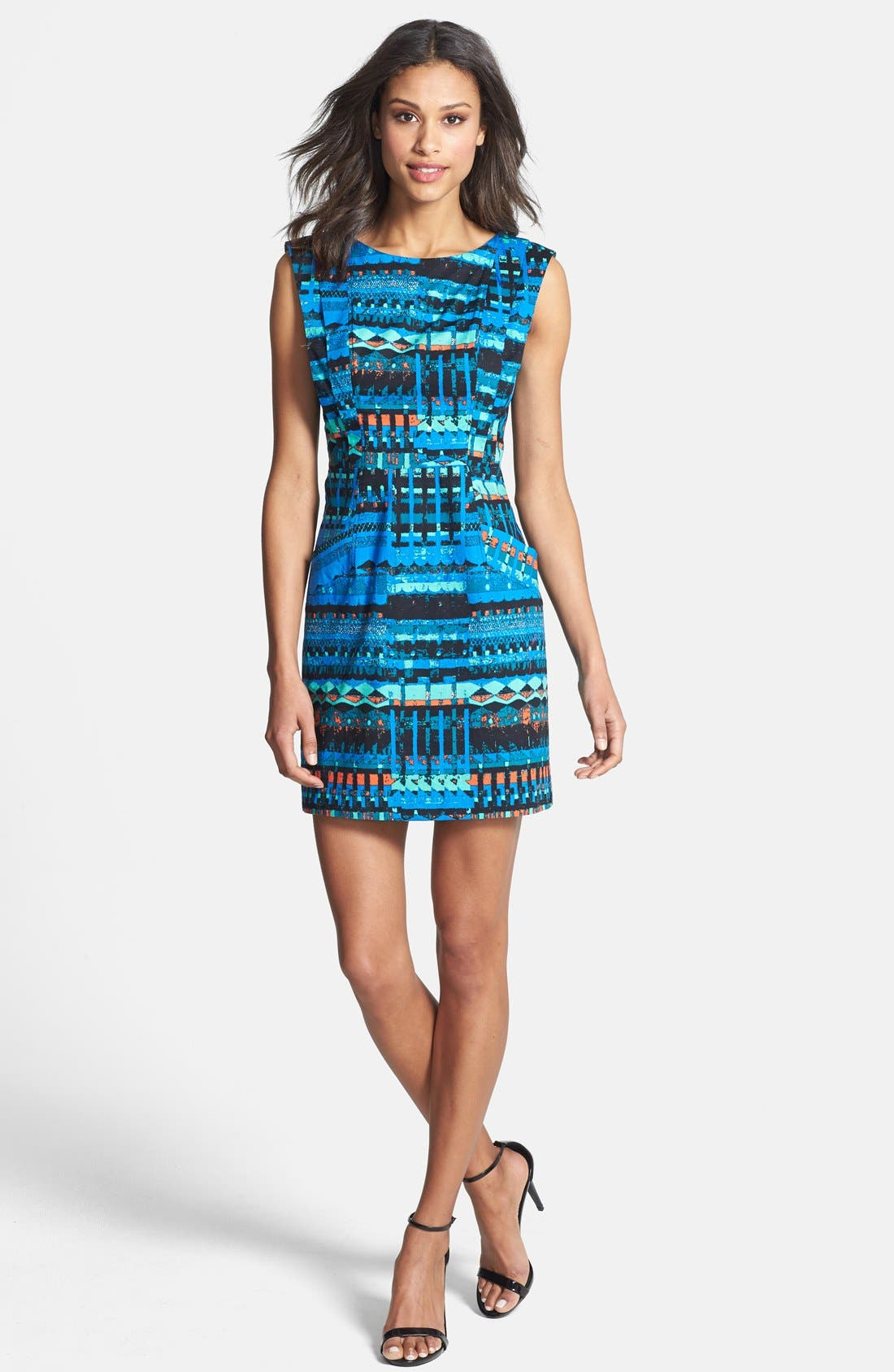 Alternate Image 3  - Plenty by Tracy Reese 'Vanessa' Print Sheath Dress (Regular & Petite)
