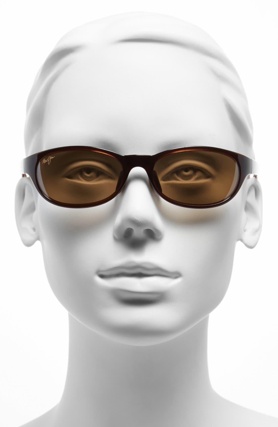 Alternate Image 2  - Maui Jim Pipiwai Trail 56mm Polarized Sunglasses