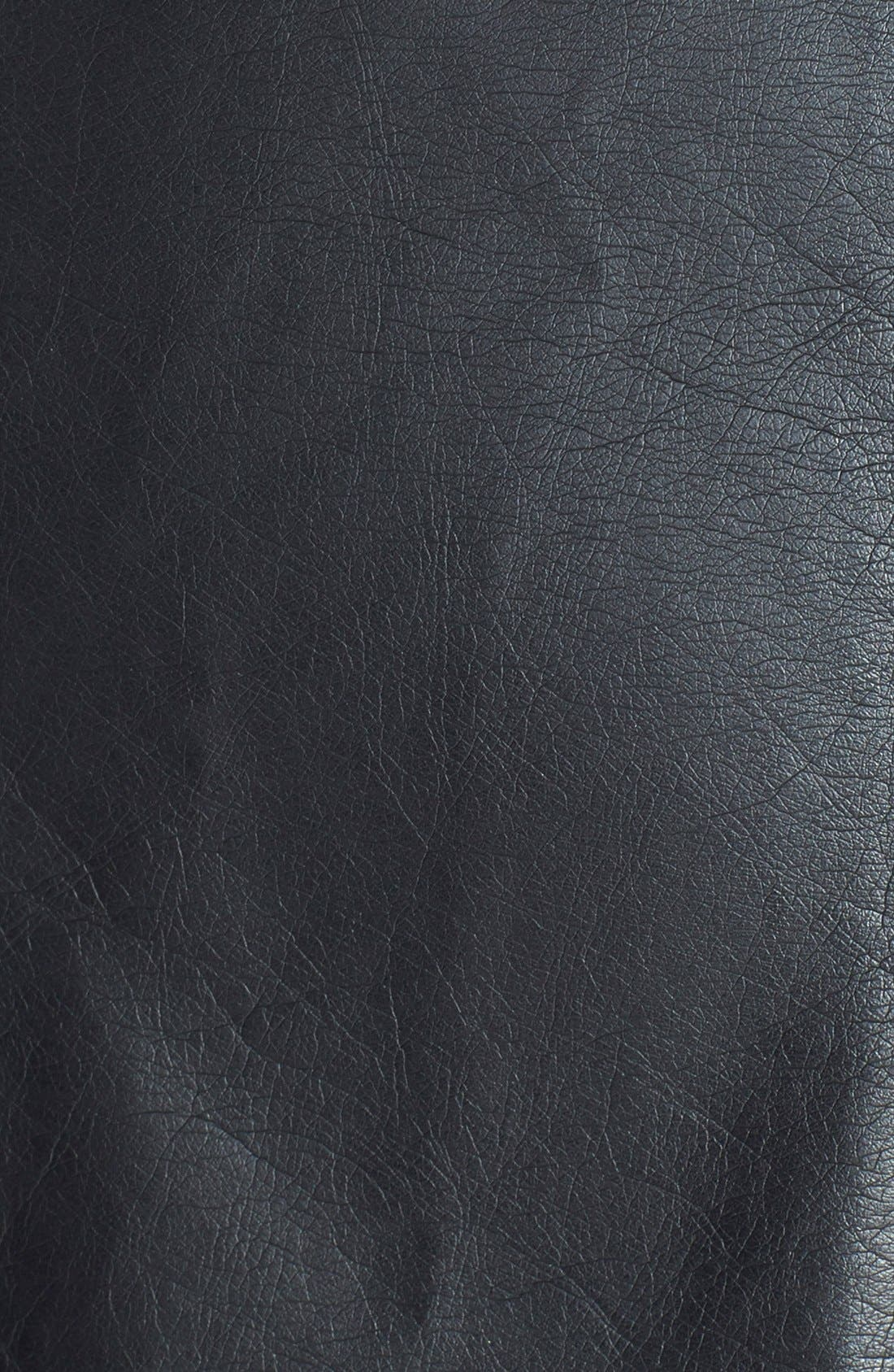 Alternate Image 3  - Sam Edelman Faux Leather Miniskirt