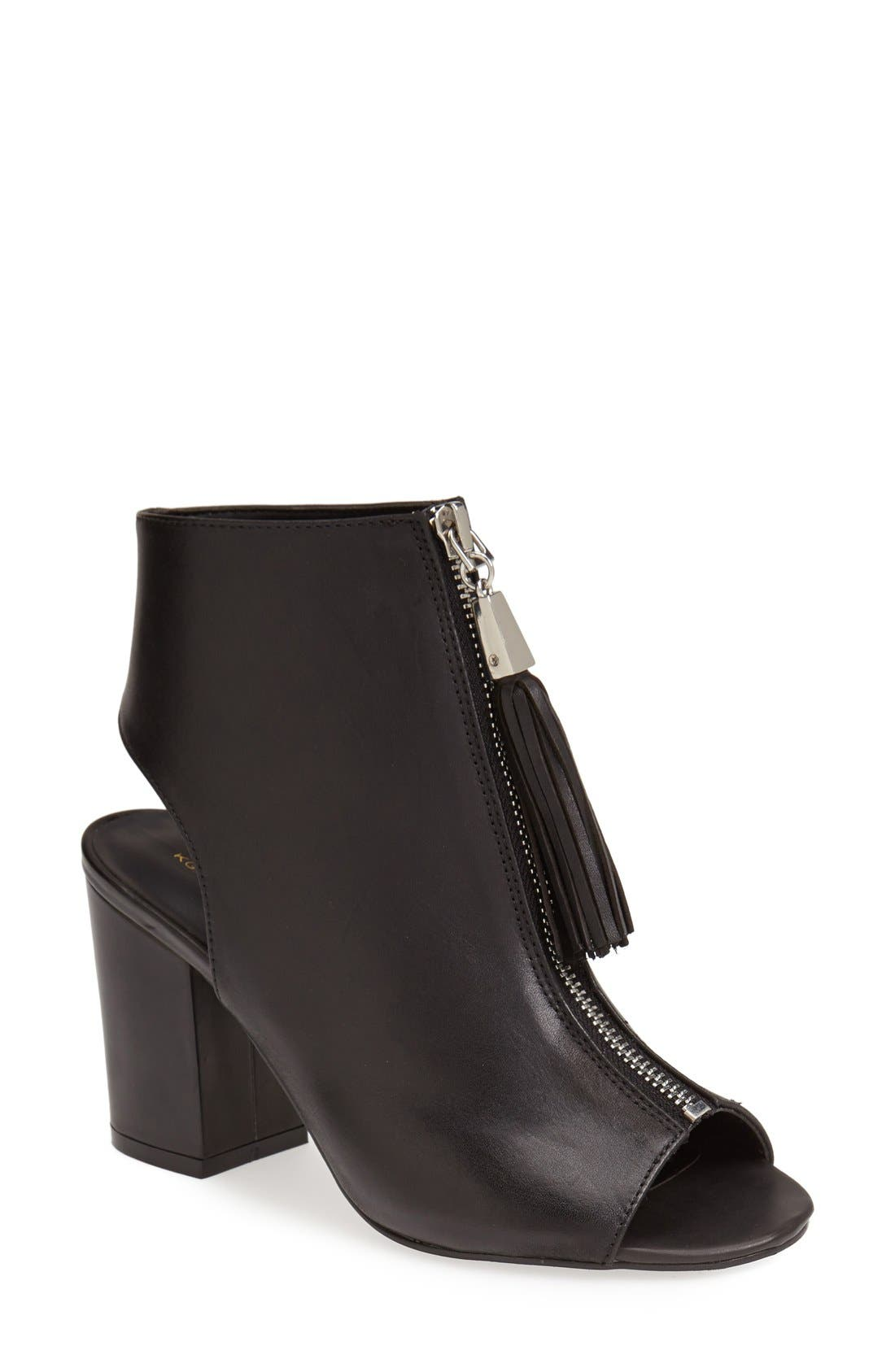Alternate Image 1 Selected - KG Kurt Geiger 'Seville' Peep Toe Bootie (Women)