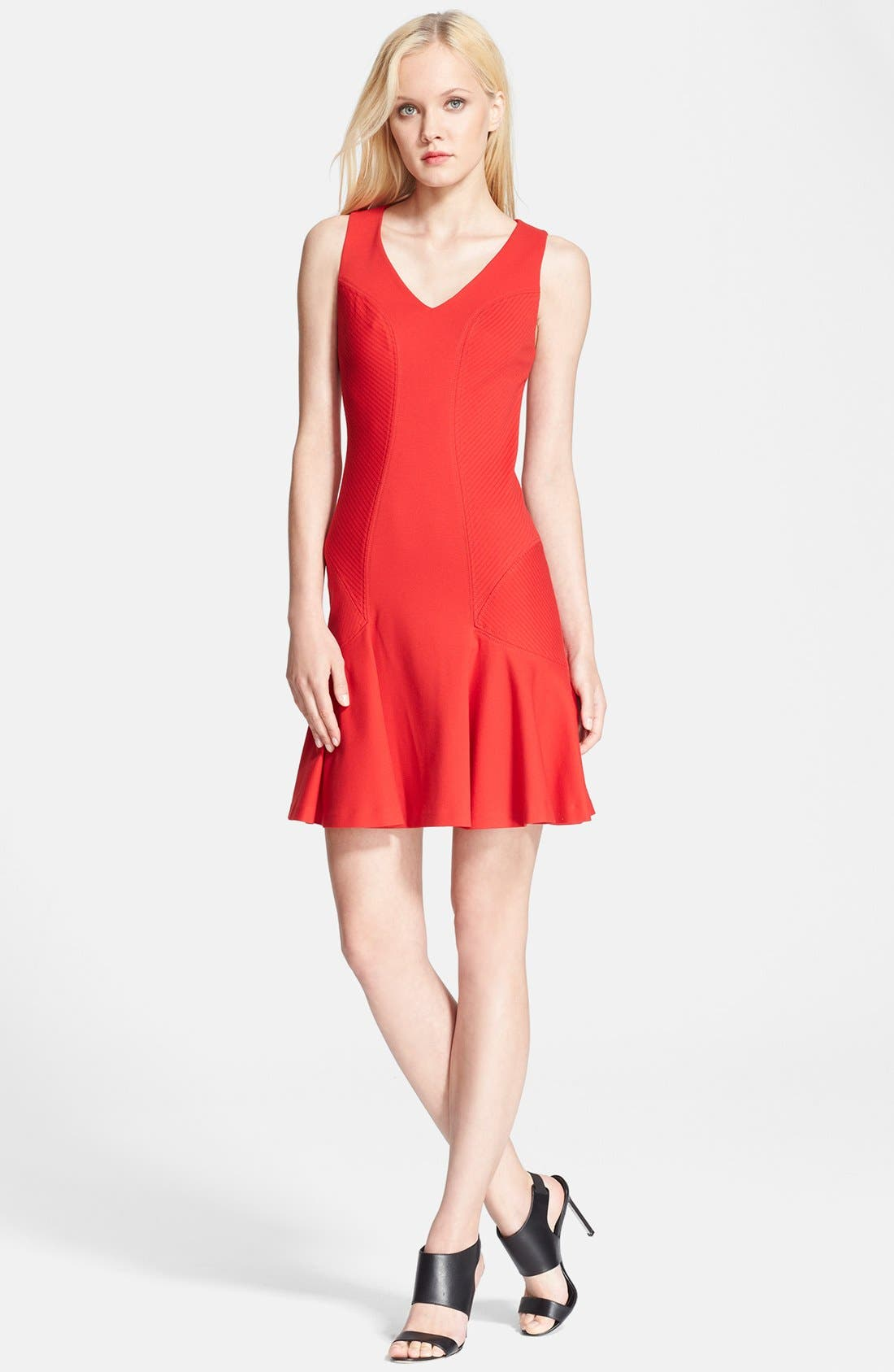 Alternate Image 1 Selected - Diane von Furstenberg 'Carla' Knit Fit & Flare Dress