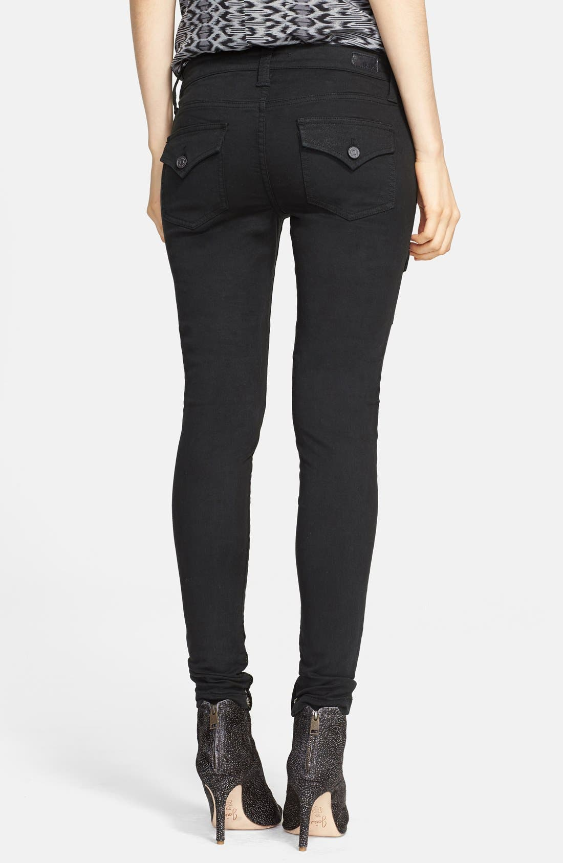 Alternate Image 2  - Joie 'So Real' Cargo Stretch Skinny Jeans