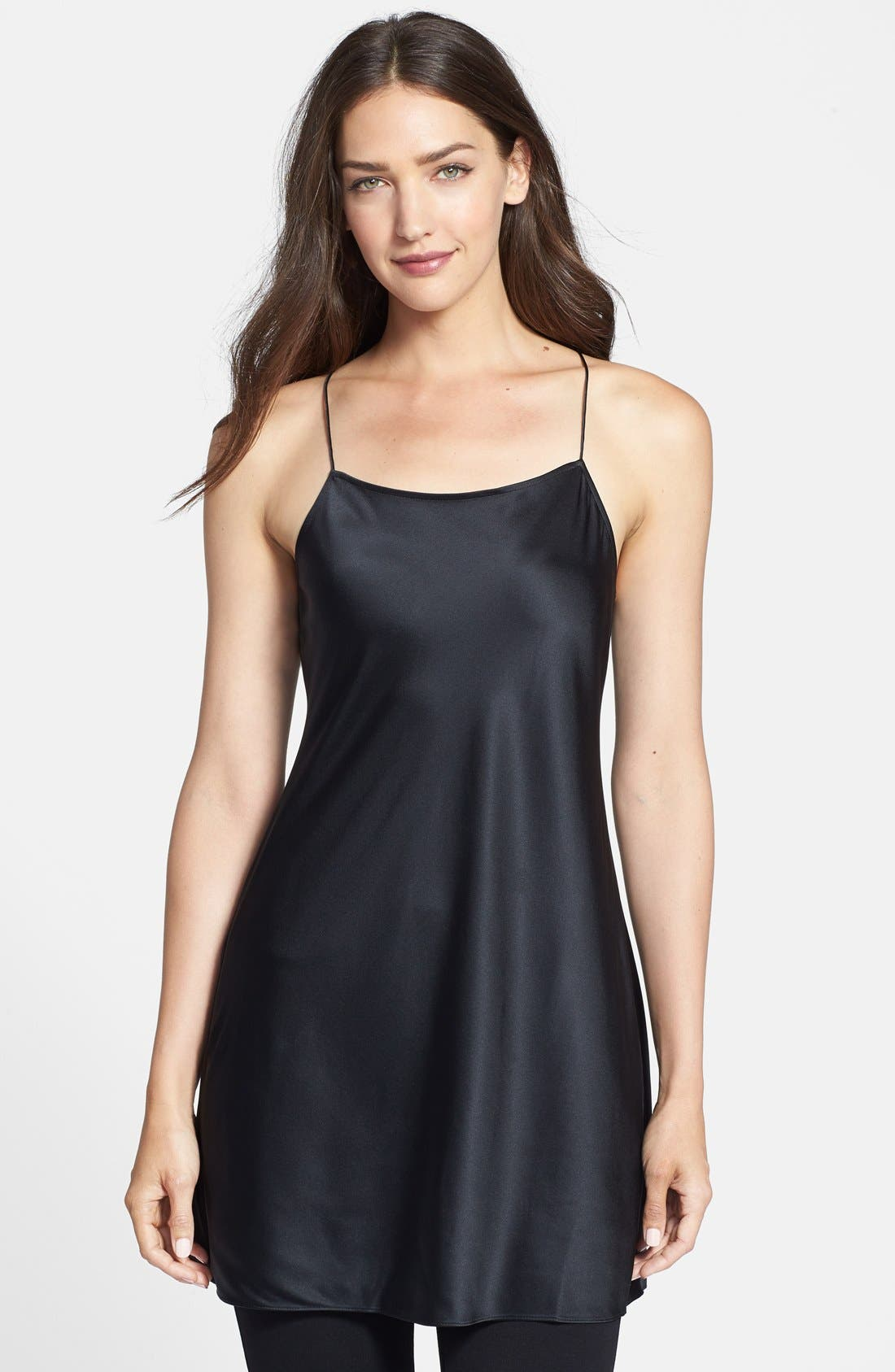 Main Image - Eileen Fisher The Fisher Project Long Silk Racerback Camisole