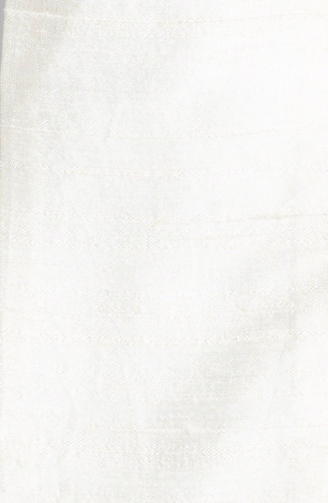 Alternate Image 2  - L. Erickson Silk Dupioni Wide Obi Sash Belt