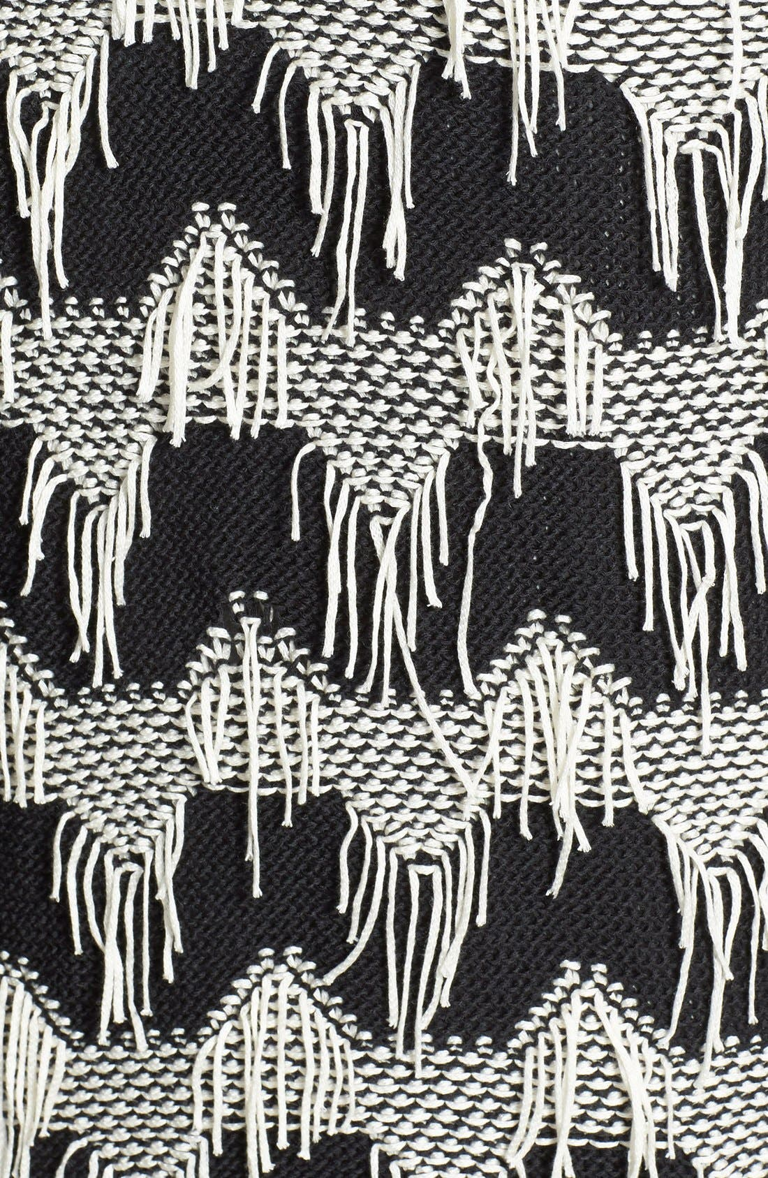 Alternate Image 3  - Olive & Oak Fringe Detail Cardigan