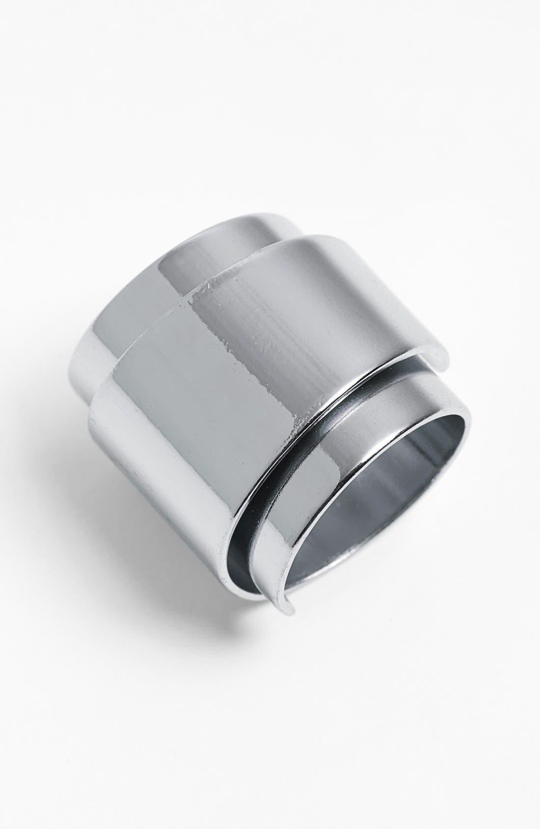 Wraparound Ring,                         Main,                         color, Silver