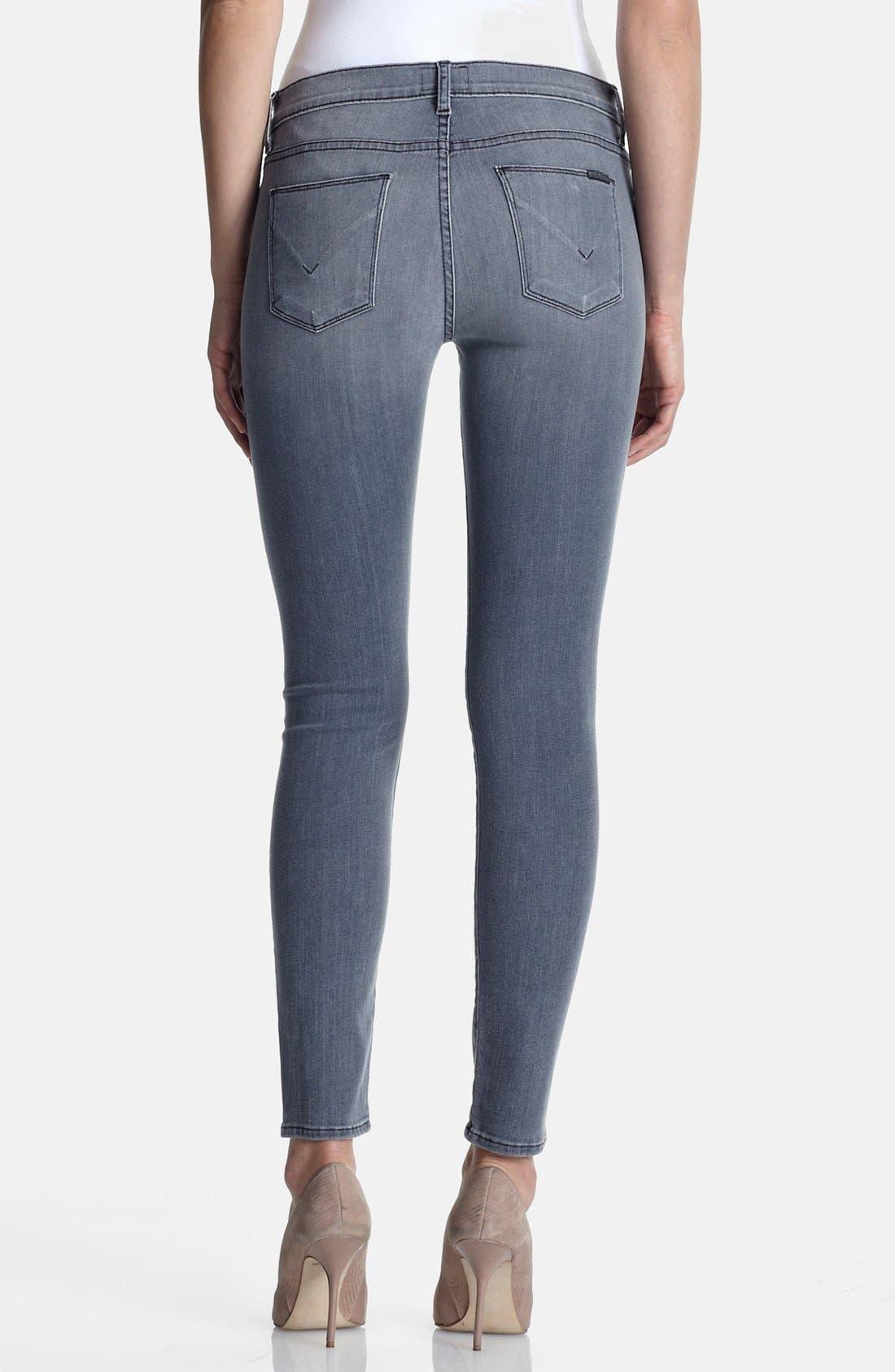 Alternate Image 2  - Hudson Jeans 'Nico' Skinny Stretch Jeans (Rakke)