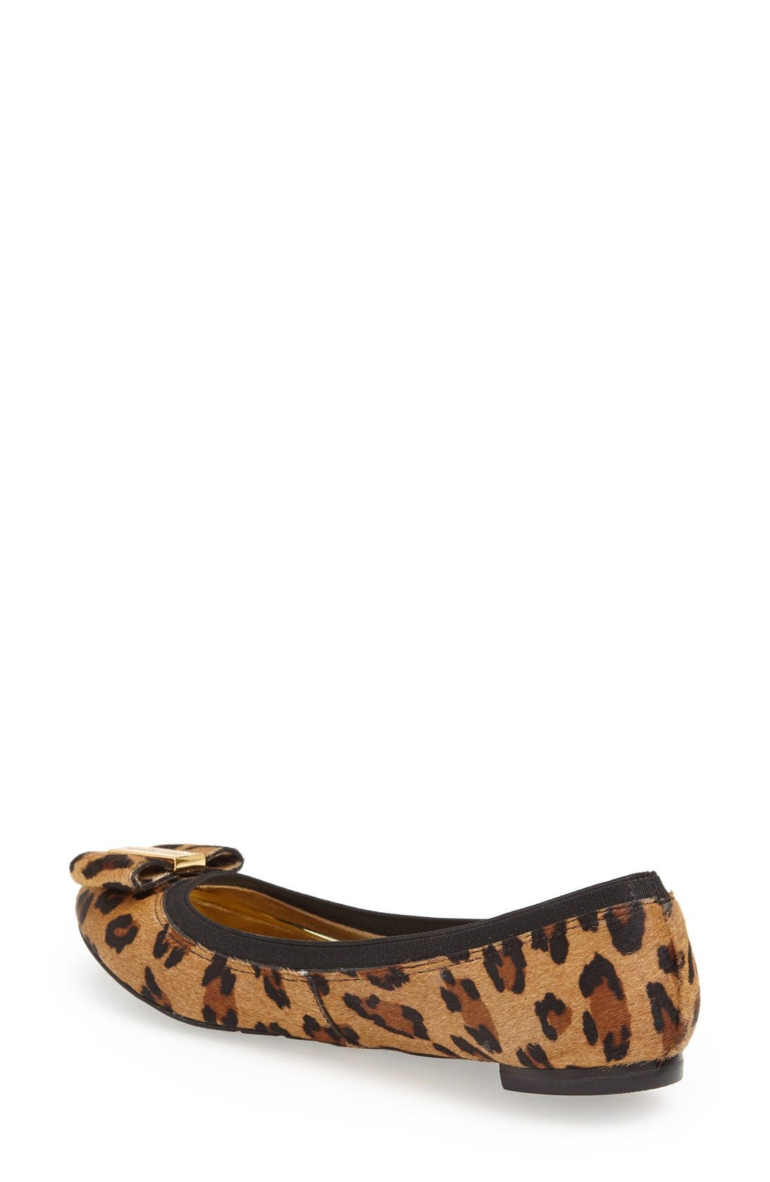 Alternate Image 2  - kate spade new york 'tock' calf hair flat (Women)