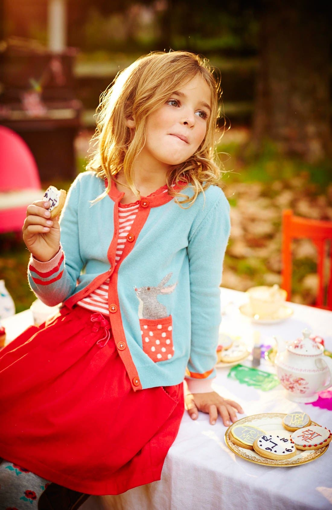 Alternate Image 2  - Mini Boden Pet Cardigan (Toddler Girls, Little Girls & Big Girls)