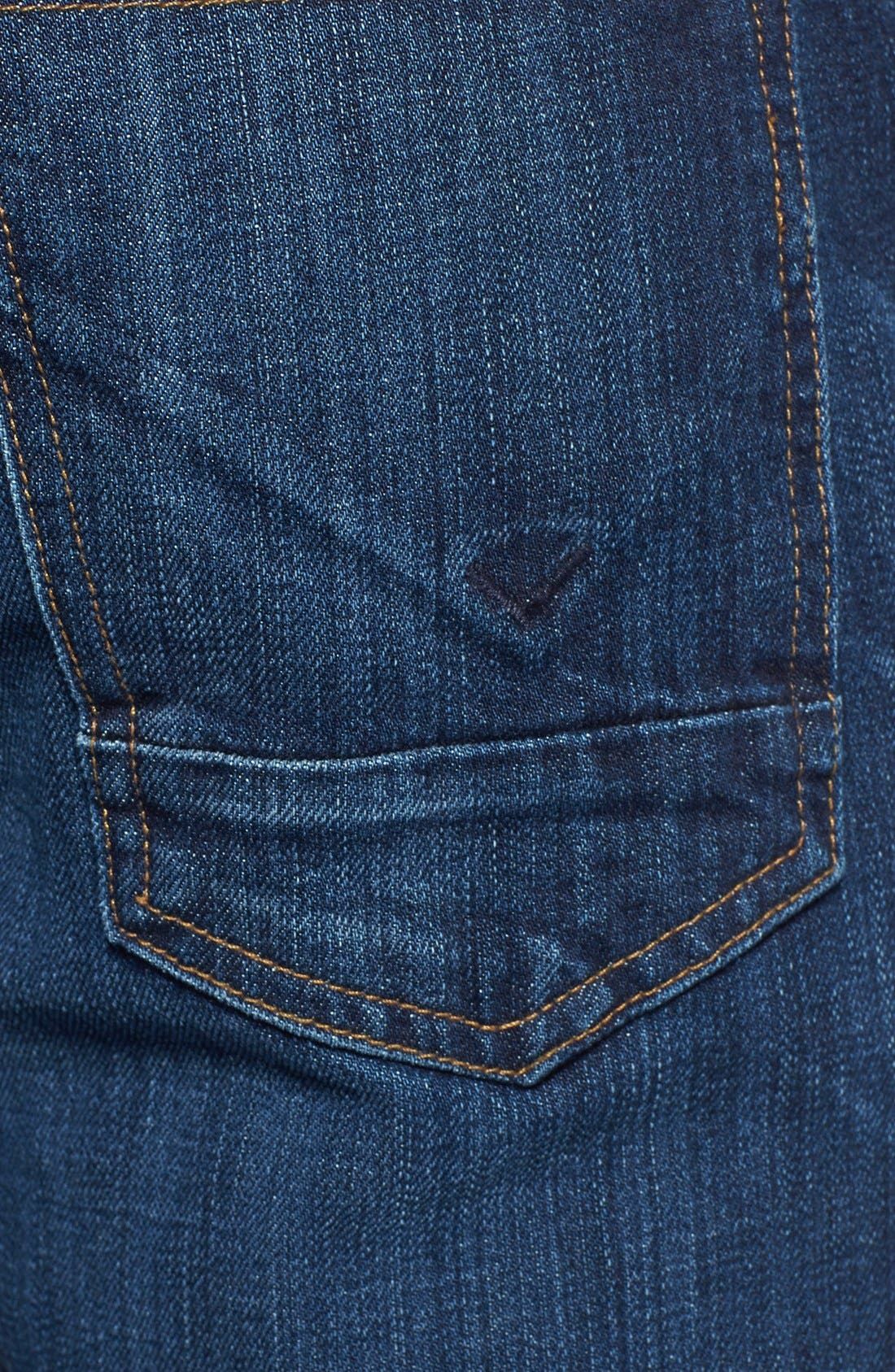 Alternate Image 3  - Hudson Jeans 'Byron' Slim Straight Leg Jeans (Blueprint)