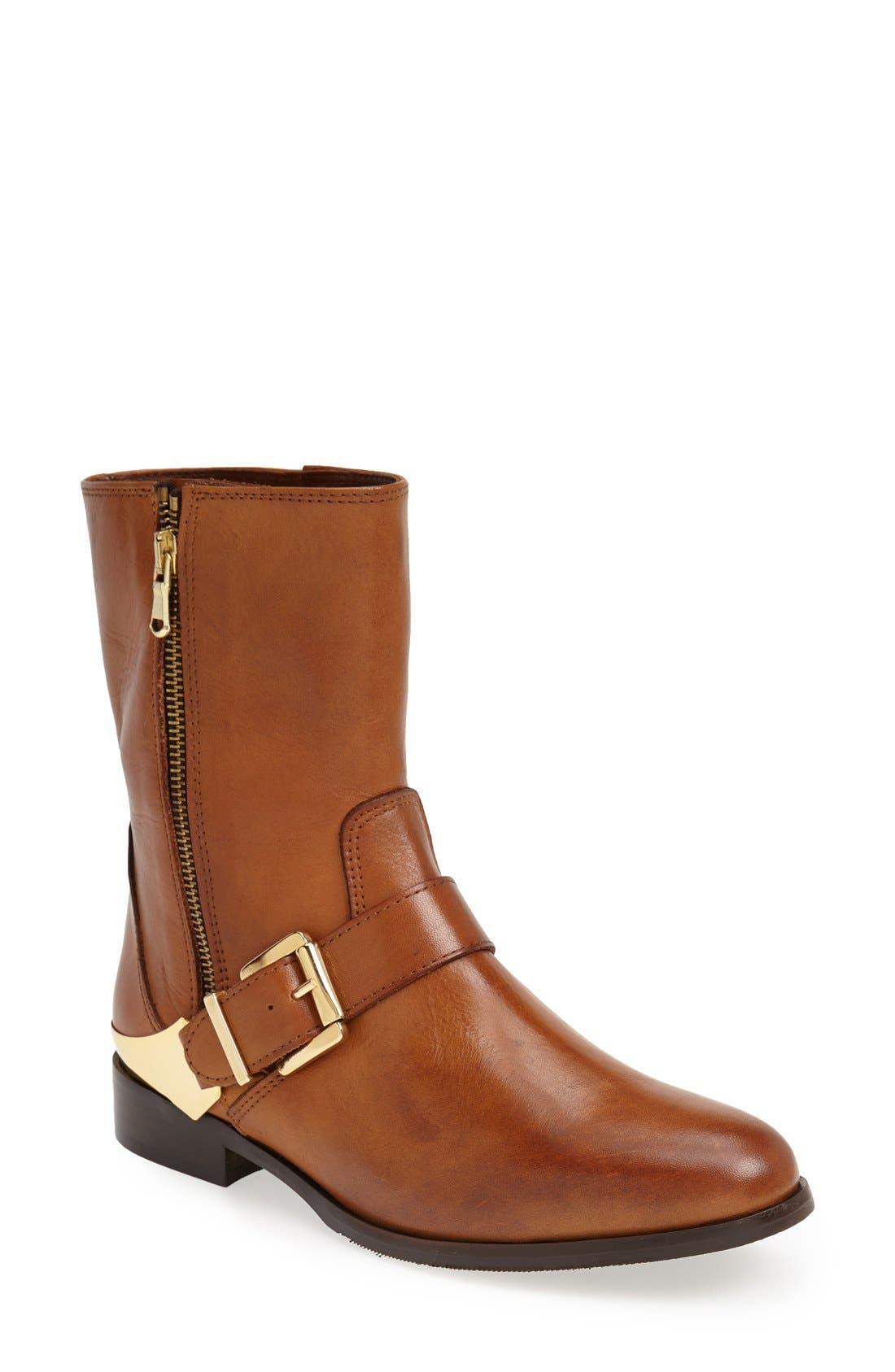 Alternate Image 1 Selected - Charles David 'Remian' Burnished Leather Boot (Women)