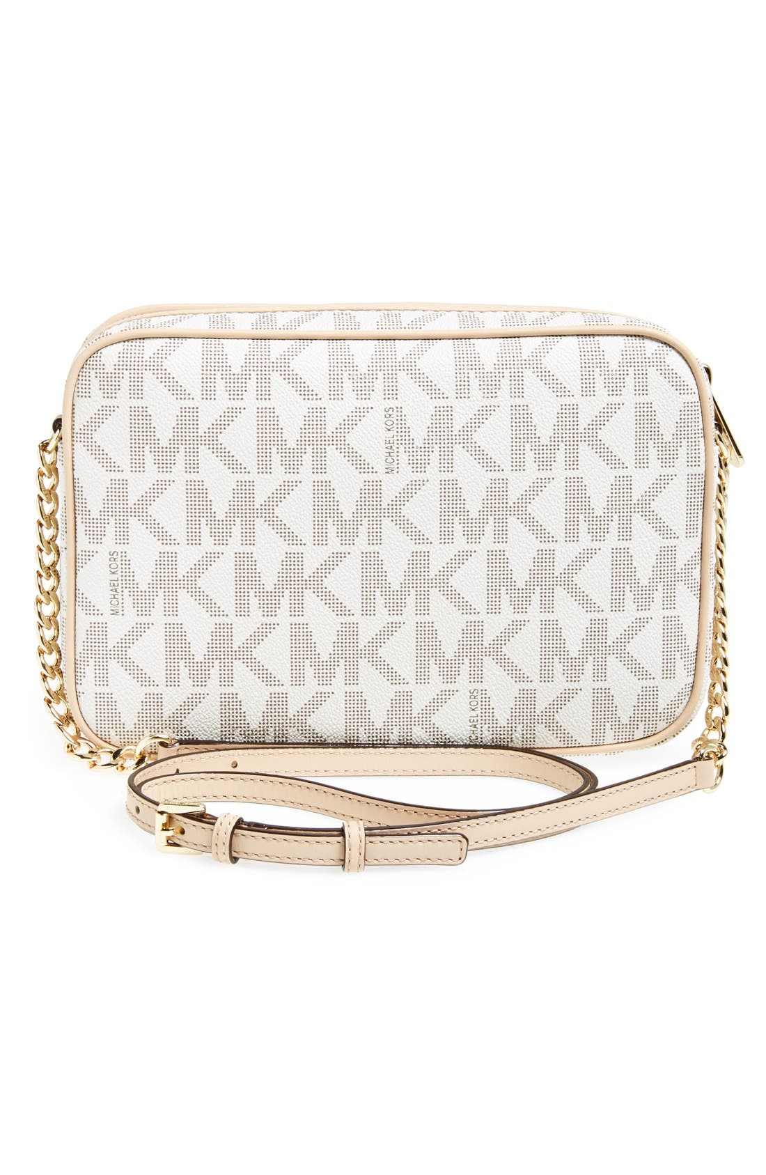 Alternate Image 3  - MICHAEL Michael Kors 'Jet Set Large' East/West Crossbody