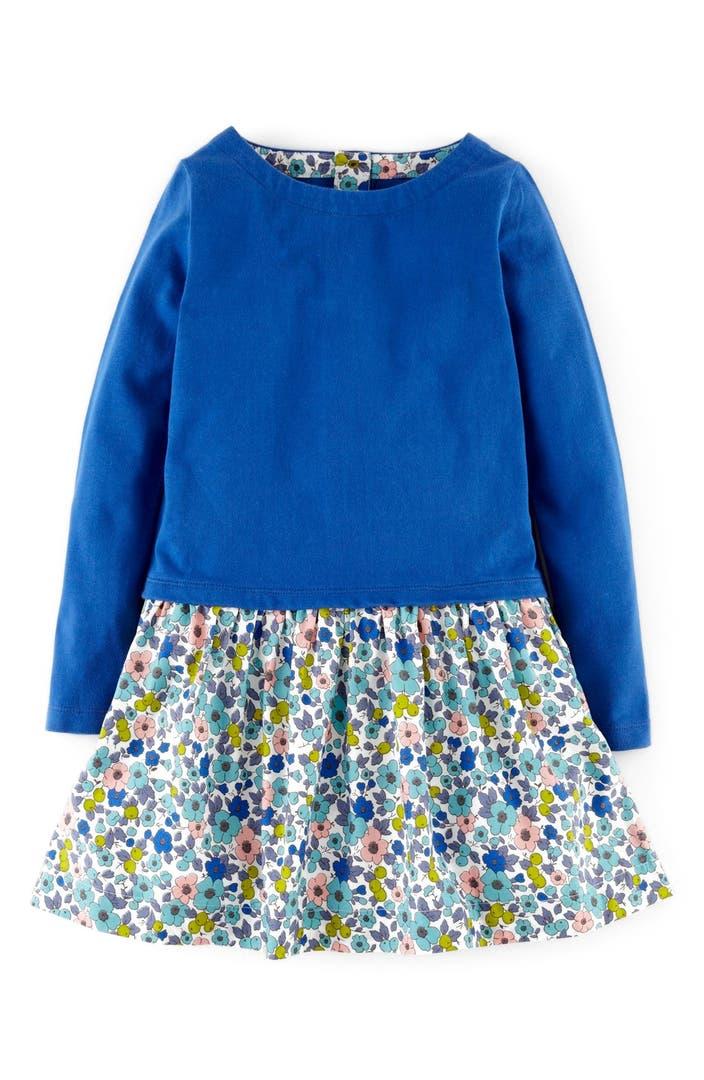 Mini boden 39 flowerbed 39 dress toddler girls little girls for Shop mini boden