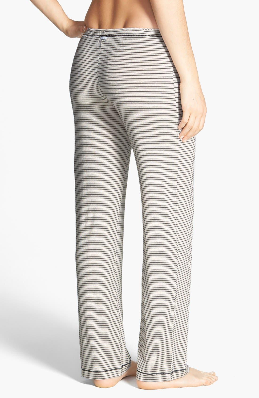 Alternate Image 2  - kensie 'Seasonal Keepers' Print Pajama Pants