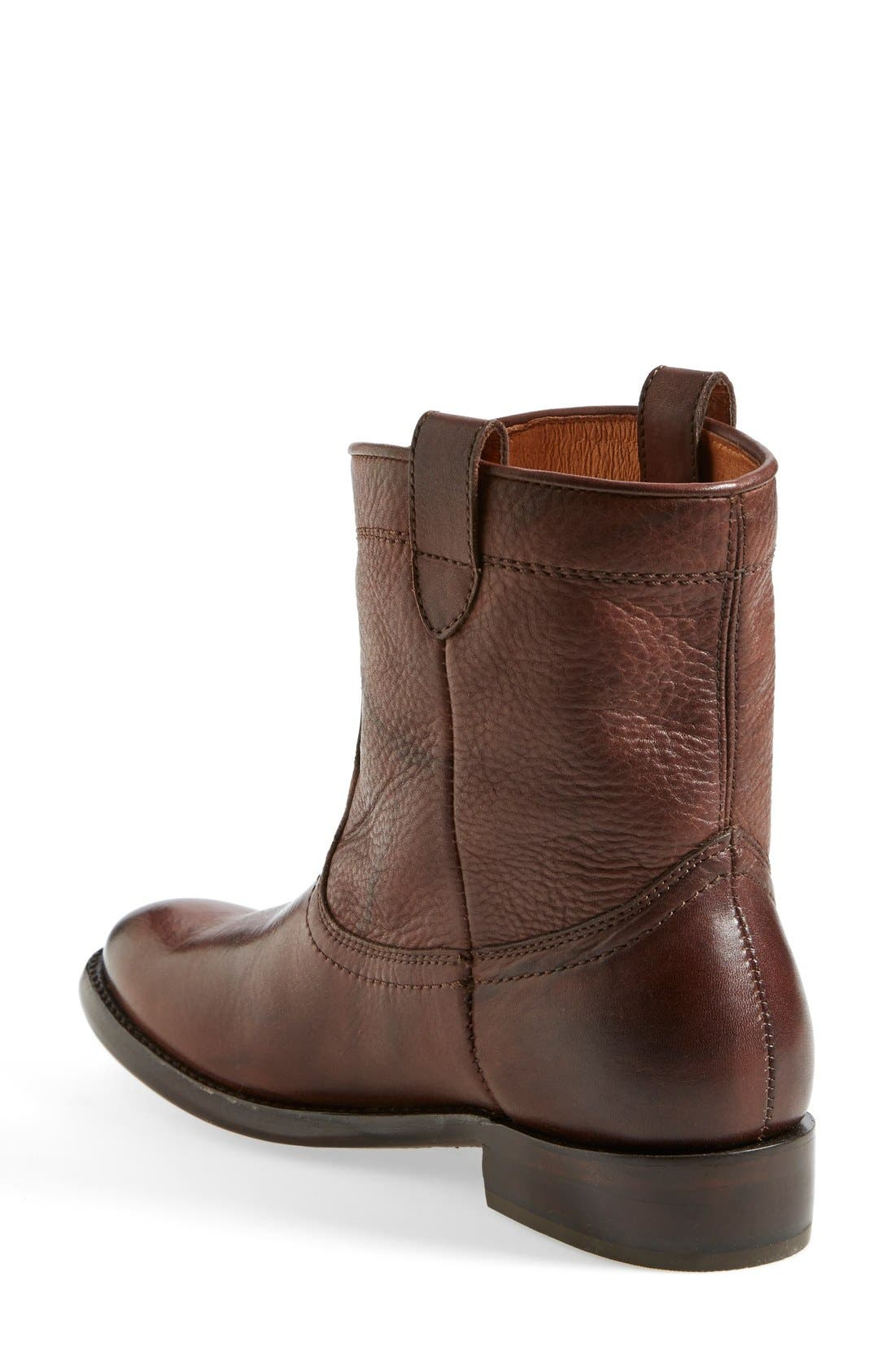 'Ada' Boot,                             Alternate thumbnail 2, color,                             Dark Brown