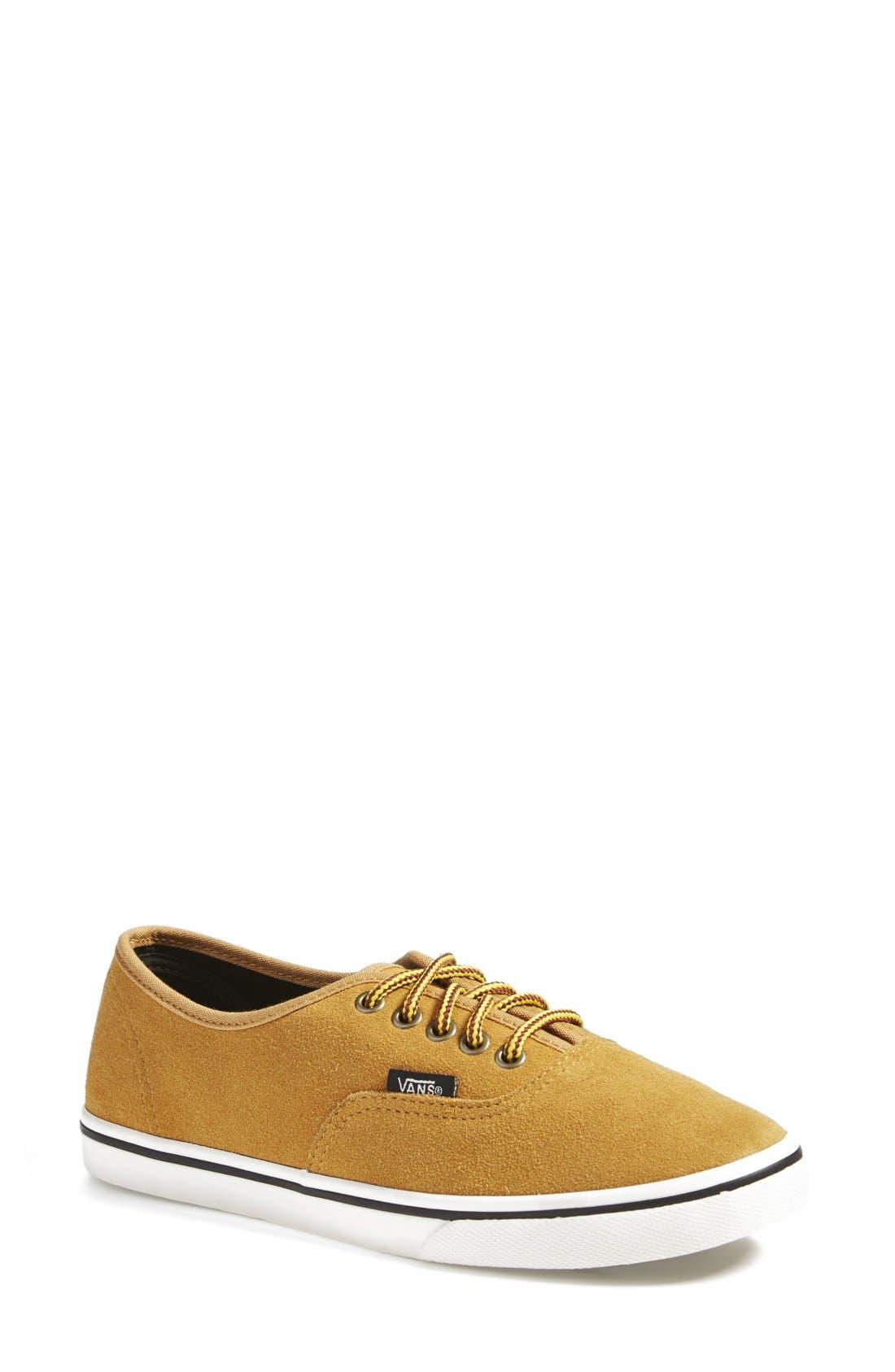 Main Image - Vans 'Authentic - Lo Pro' Suede Sneaker (Women)