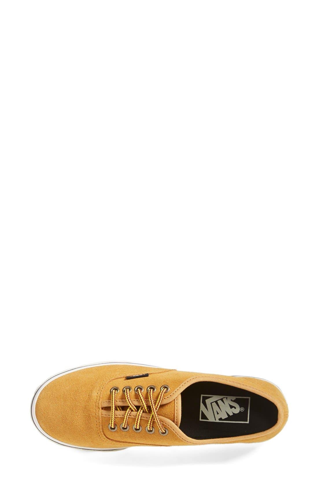 Alternate Image 3  - Vans 'Authentic - Lo Pro' Suede Sneaker (Women)