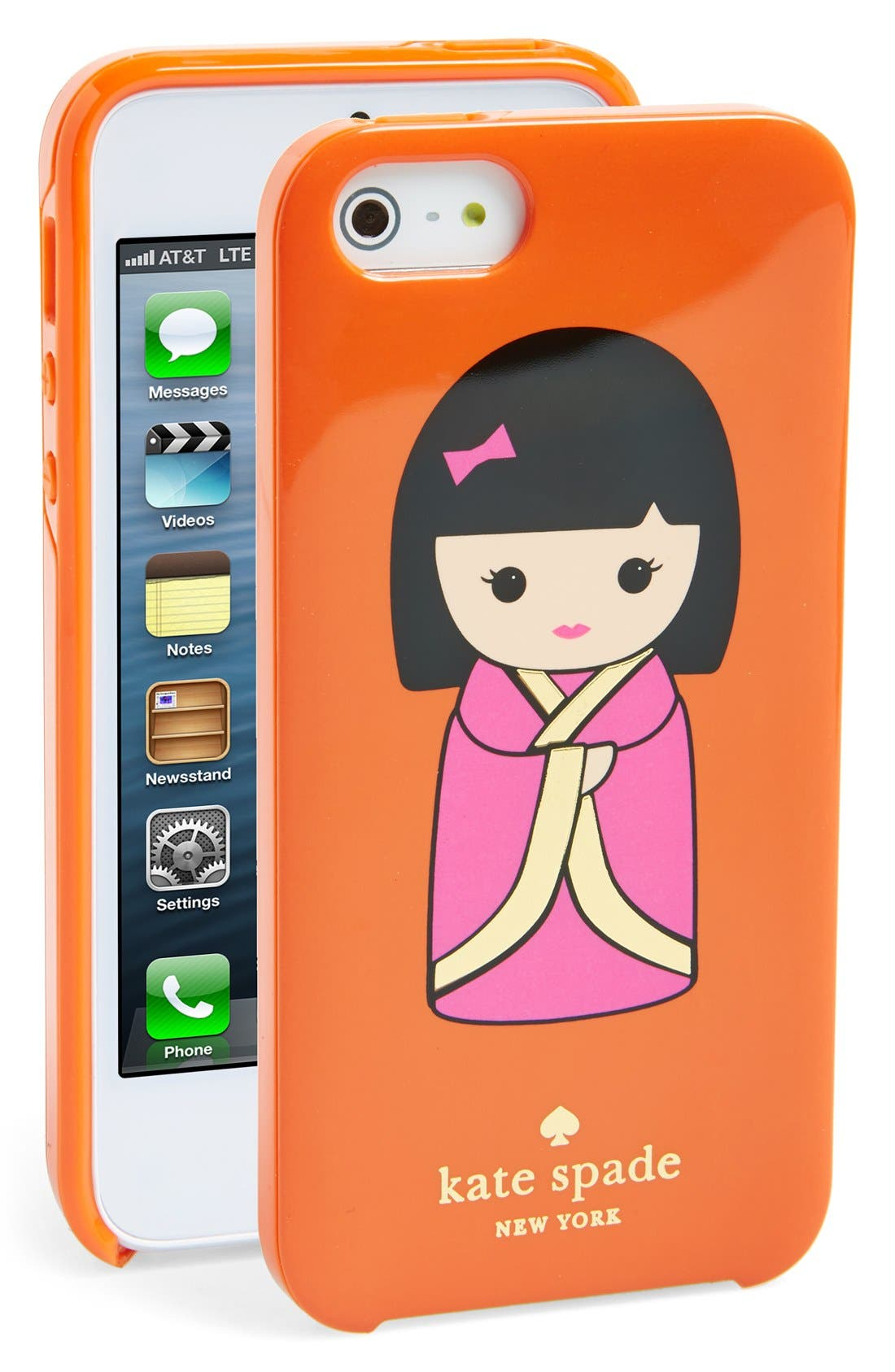 Alternate Image 1 Selected - kate spade new york 'Hello Tokyo' iPhone 5 & 5s case