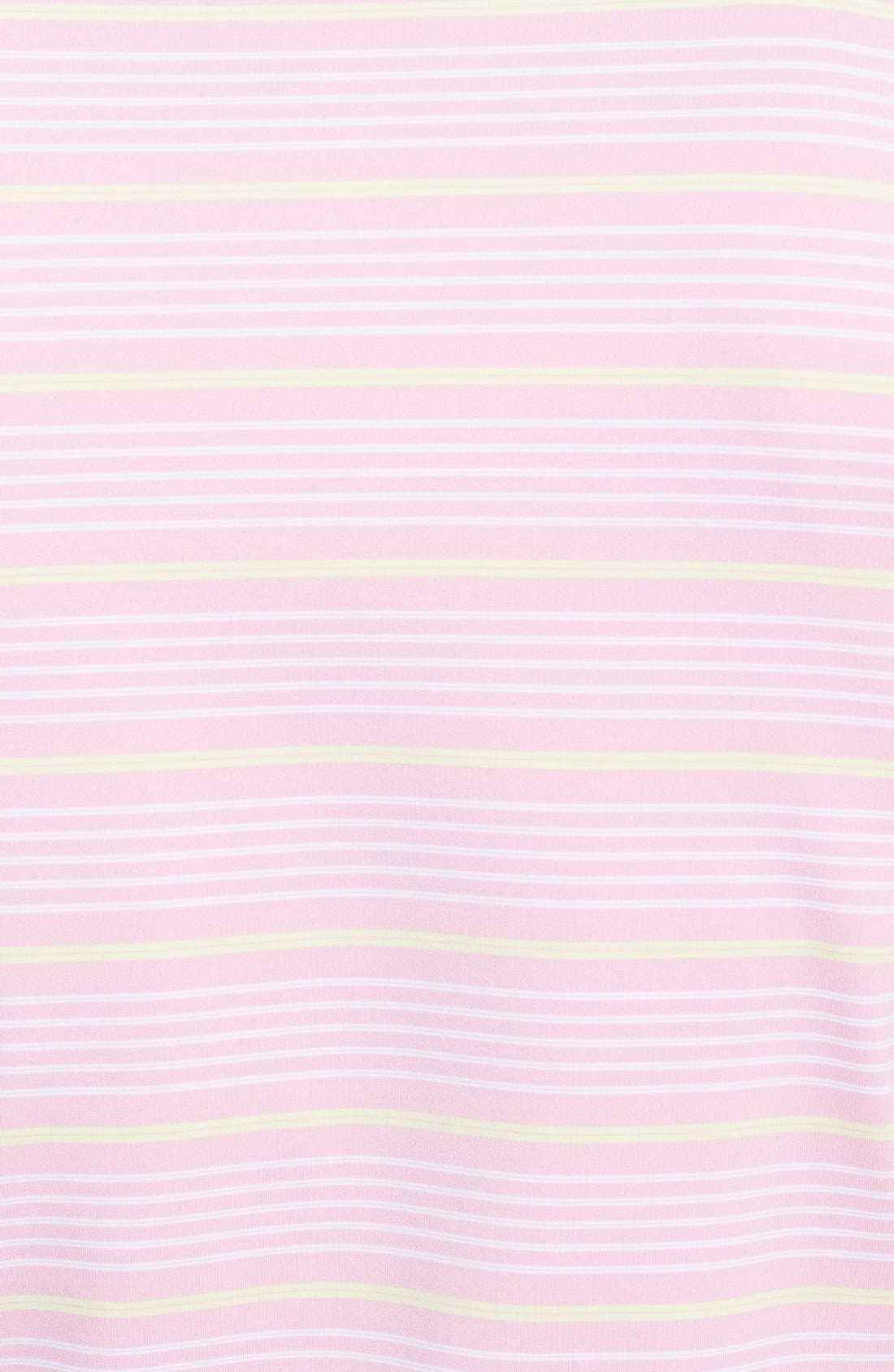 'Staley' Moisture Wicking Polo,                             Alternate thumbnail 3, color,                             Bermuda Pink