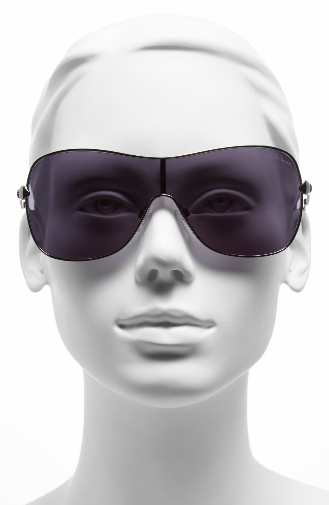 Alternate Image 2  - Roberto Cavalli 'Agena' Shield Sunglasses