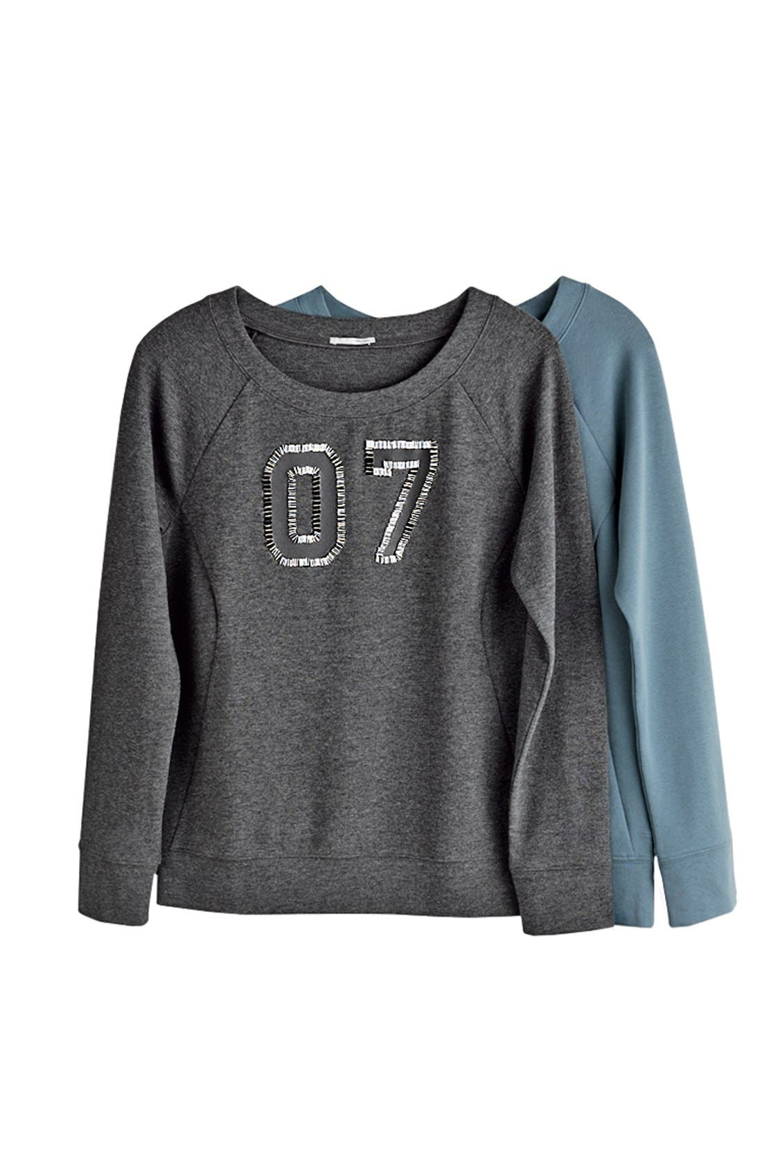 Alternate Image 4  - Halogen® Embellished Sweatshirt