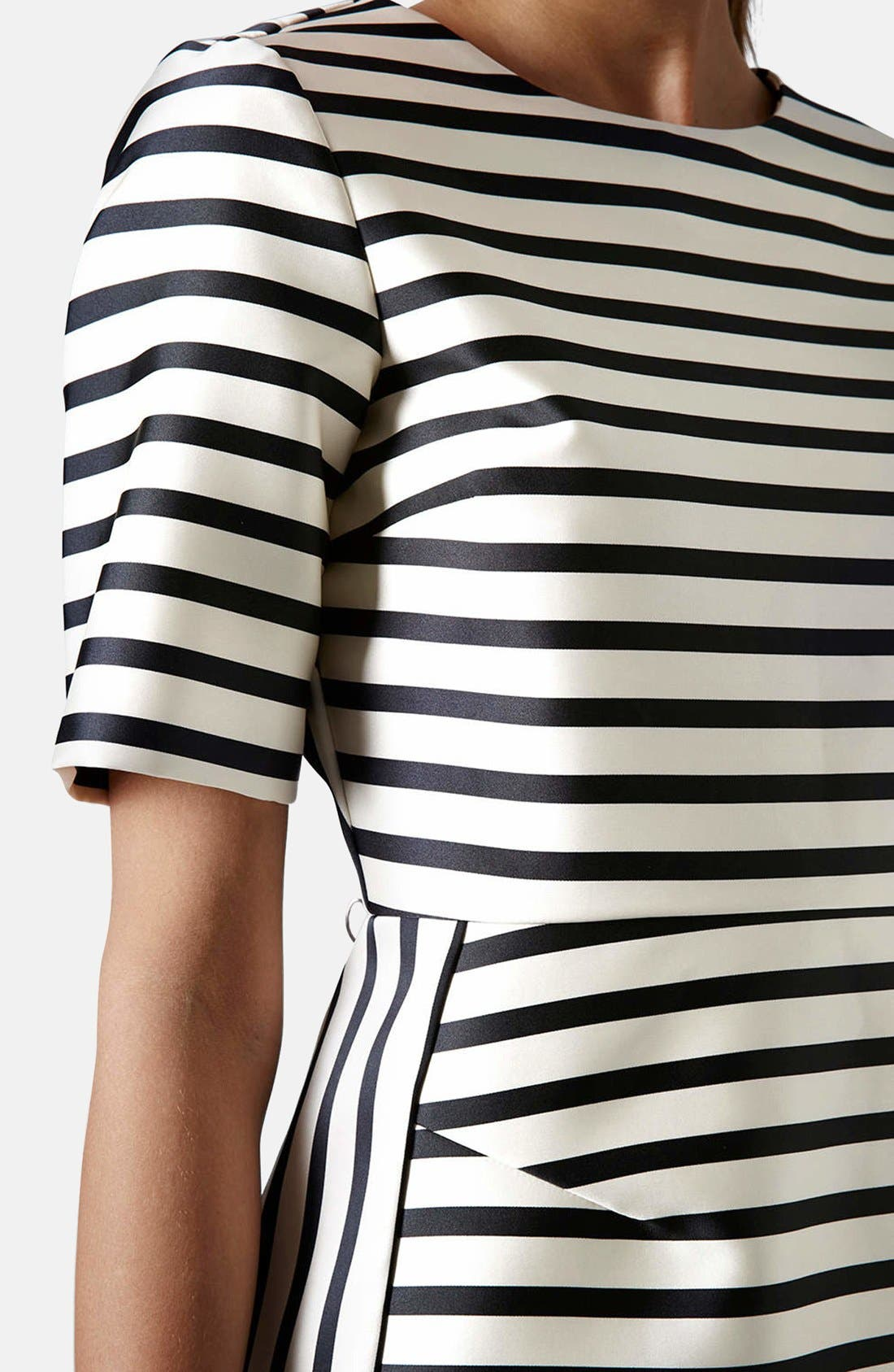 Alternate Image 4  - Topshop Stripe A-Line Dress