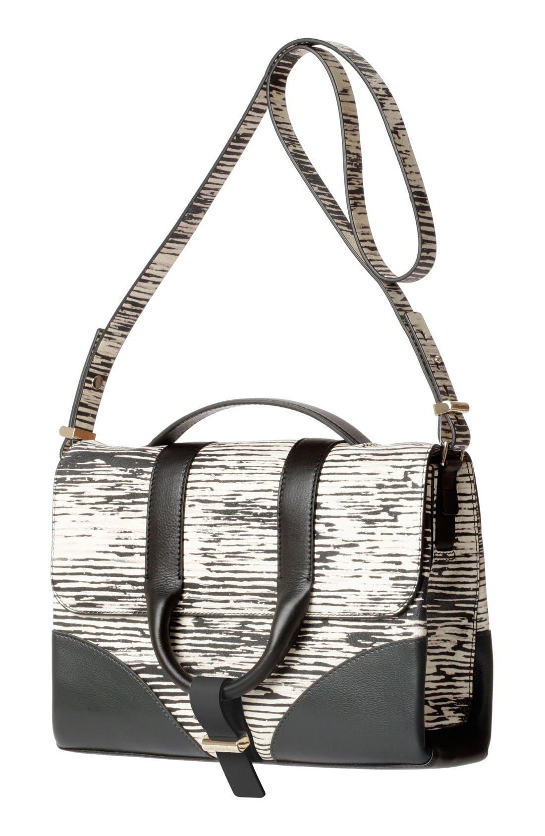 Alternate Image 4  - Jason Wu 'Hanne' Printed Calfskin Leather Messenger Bag