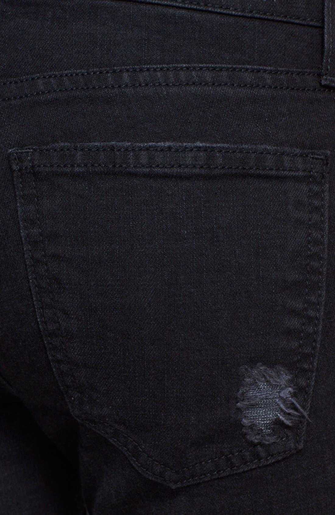 Alternate Image 3  - Current/Elliott 'The Stiletto' Destroyed Skinny Jeans