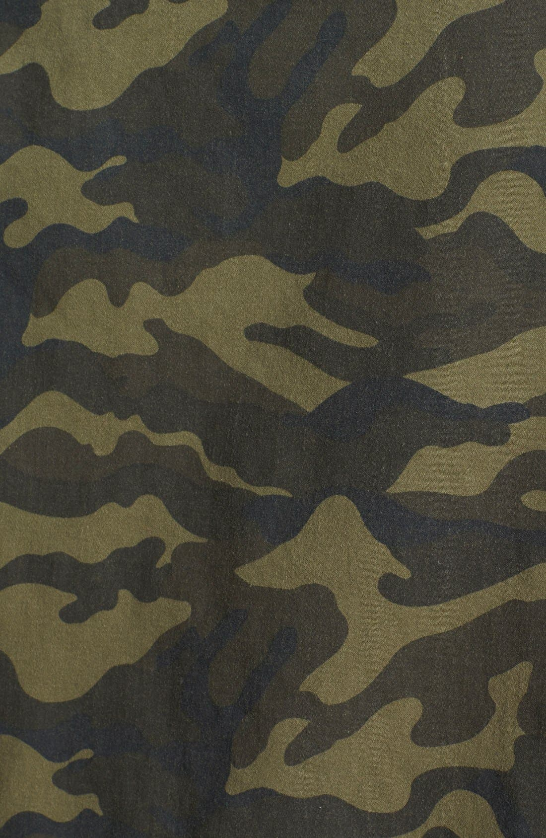 Alternate Image 3  - Press Lightweight Stretch Cotton Military Jacket (Regular & Petite)