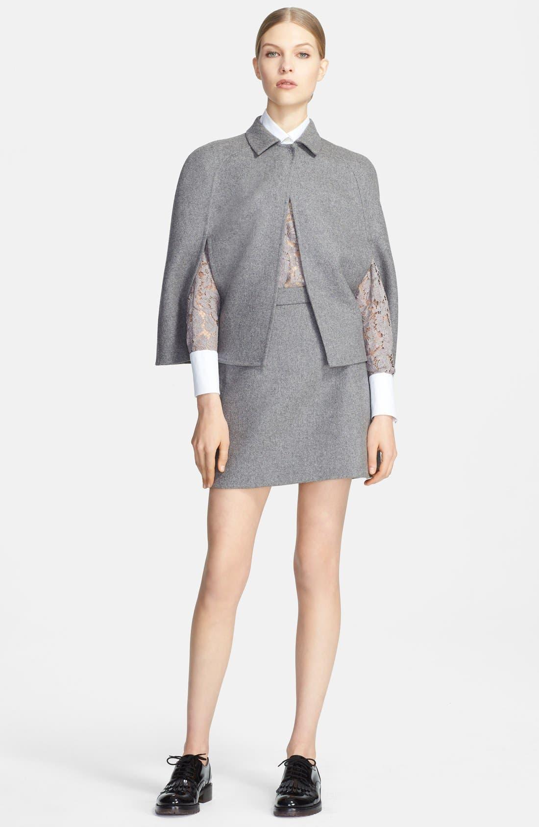 Alternate Image 3  - Valentino Wool Blend Skirt