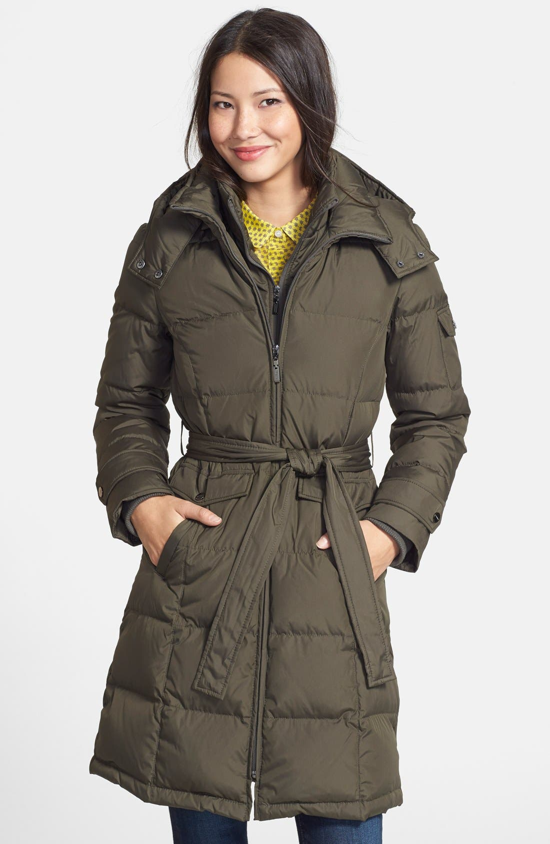 Ellen tracy down parka