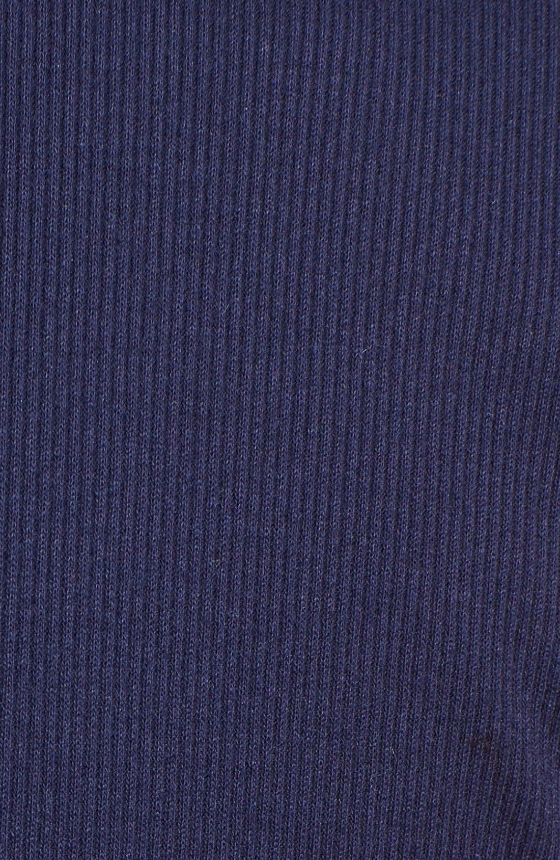 'Amber' Scoop Neck Maxi Dress,                             Alternate thumbnail 3, color,                             Navy