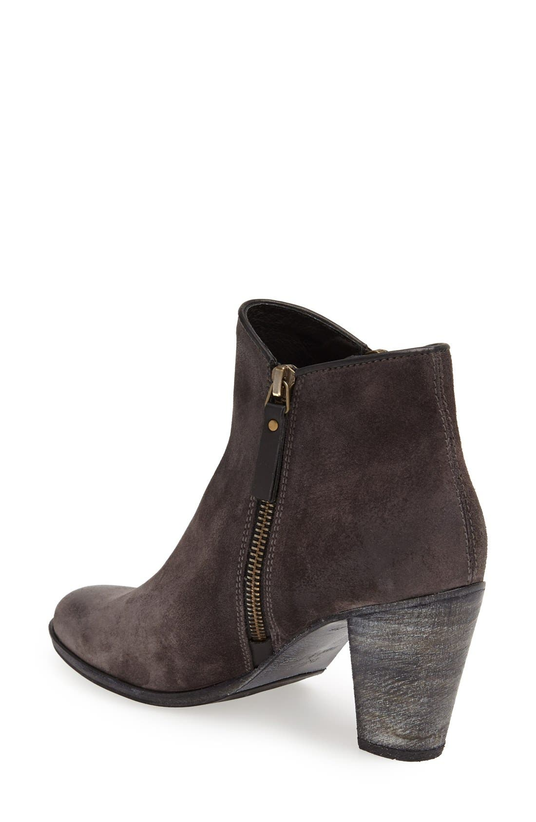 made by hand 'Snyder Rabat' Bootie,                             Alternate thumbnail 2, color,                             Lavagna