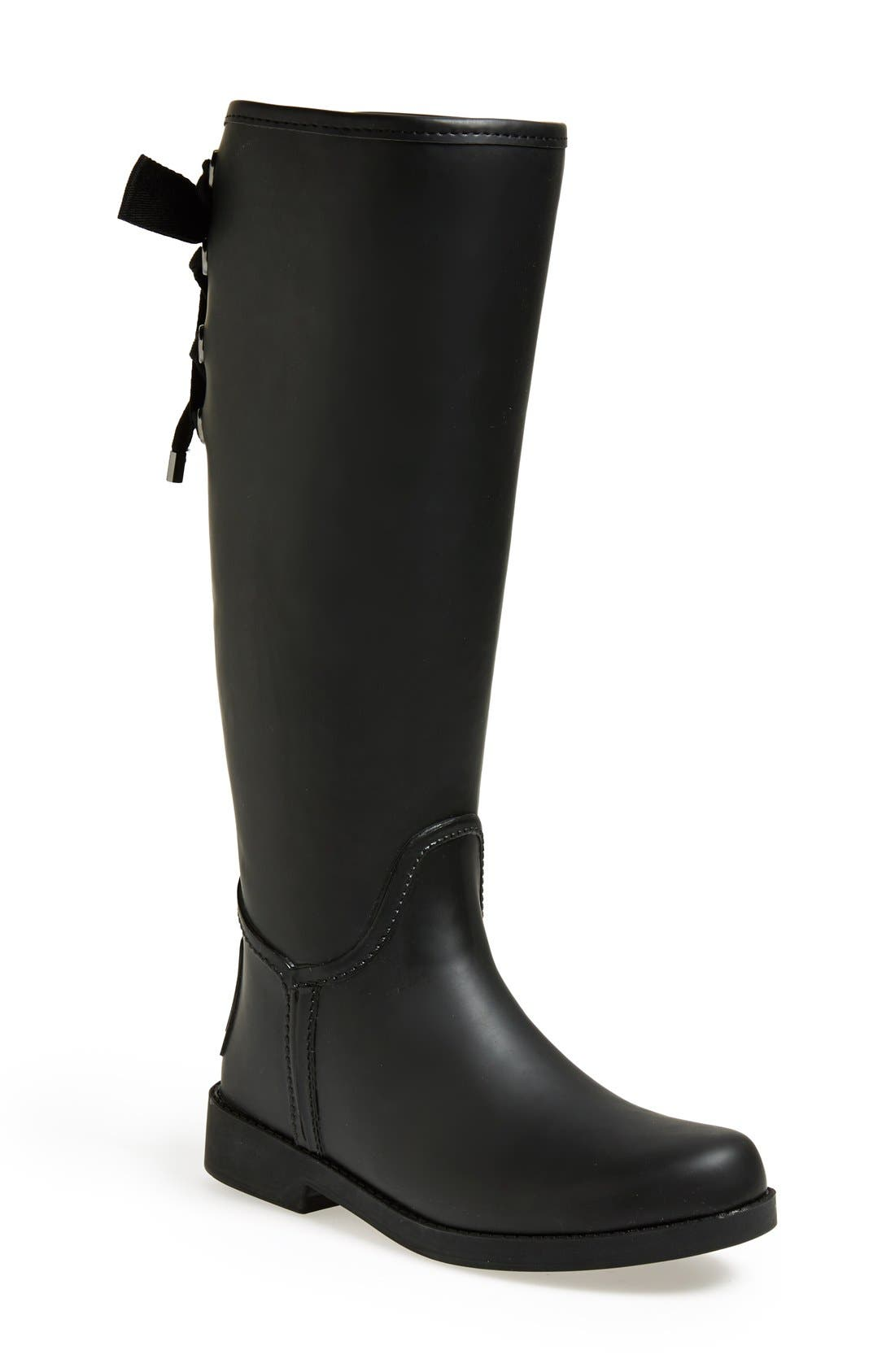 Alternate Image 1 Selected - COACH 'Tristee' Waterproof Rain Boot