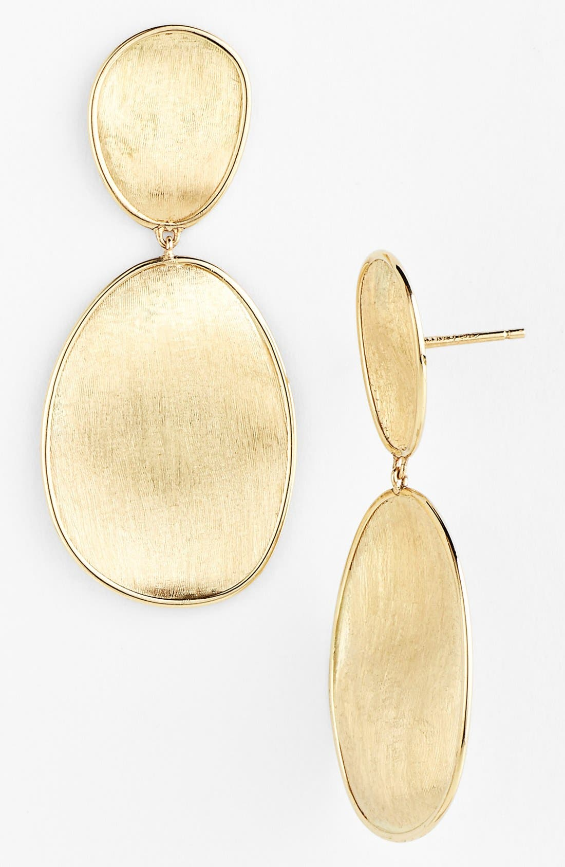 'Lunaria' Drop Earrings,                         Main,                         color, Yellow Gold