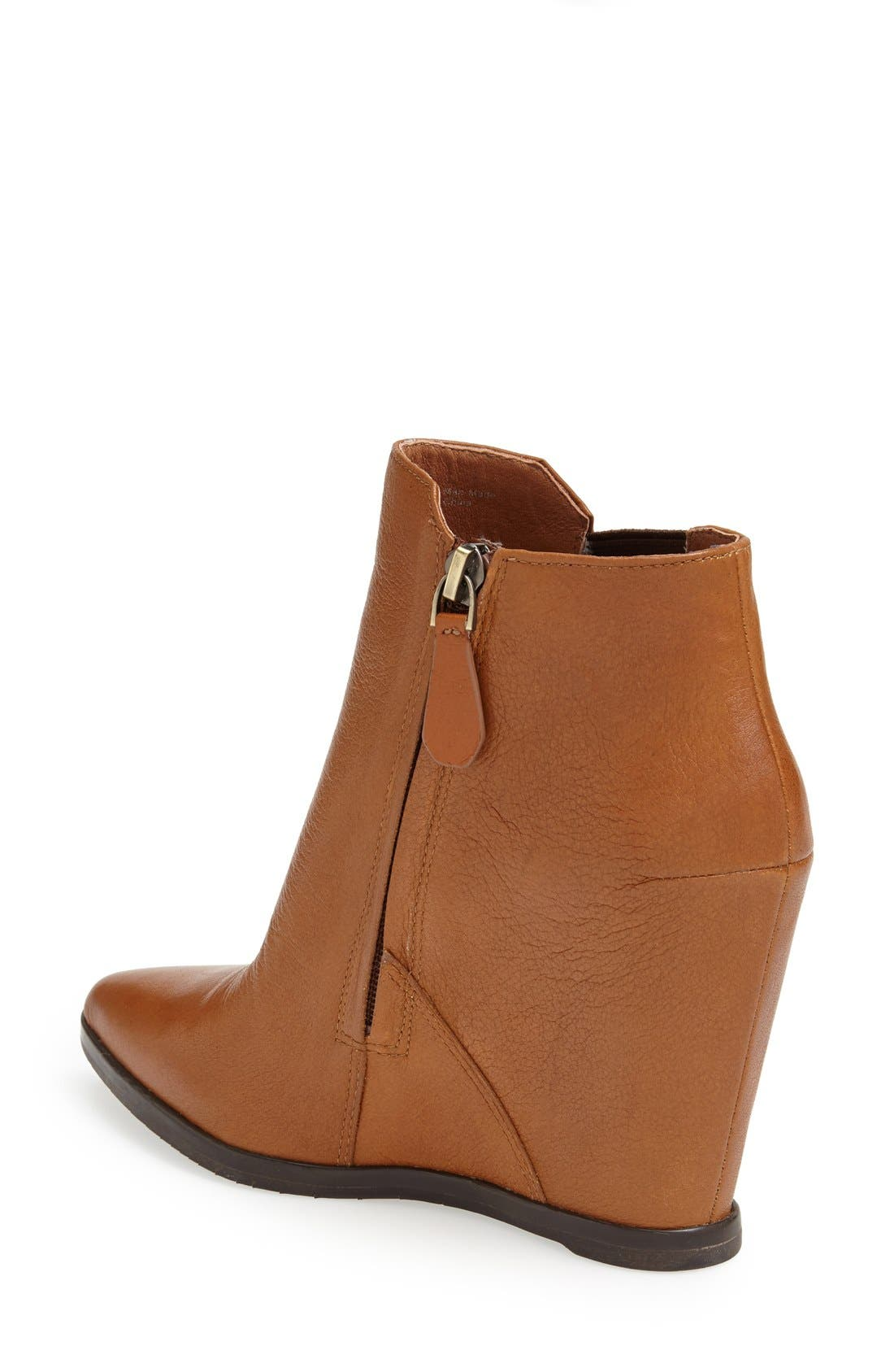 Alternate Image 2  - Kenneth Cole New York 'Sloane' Leather Wedge Bootie (Women)