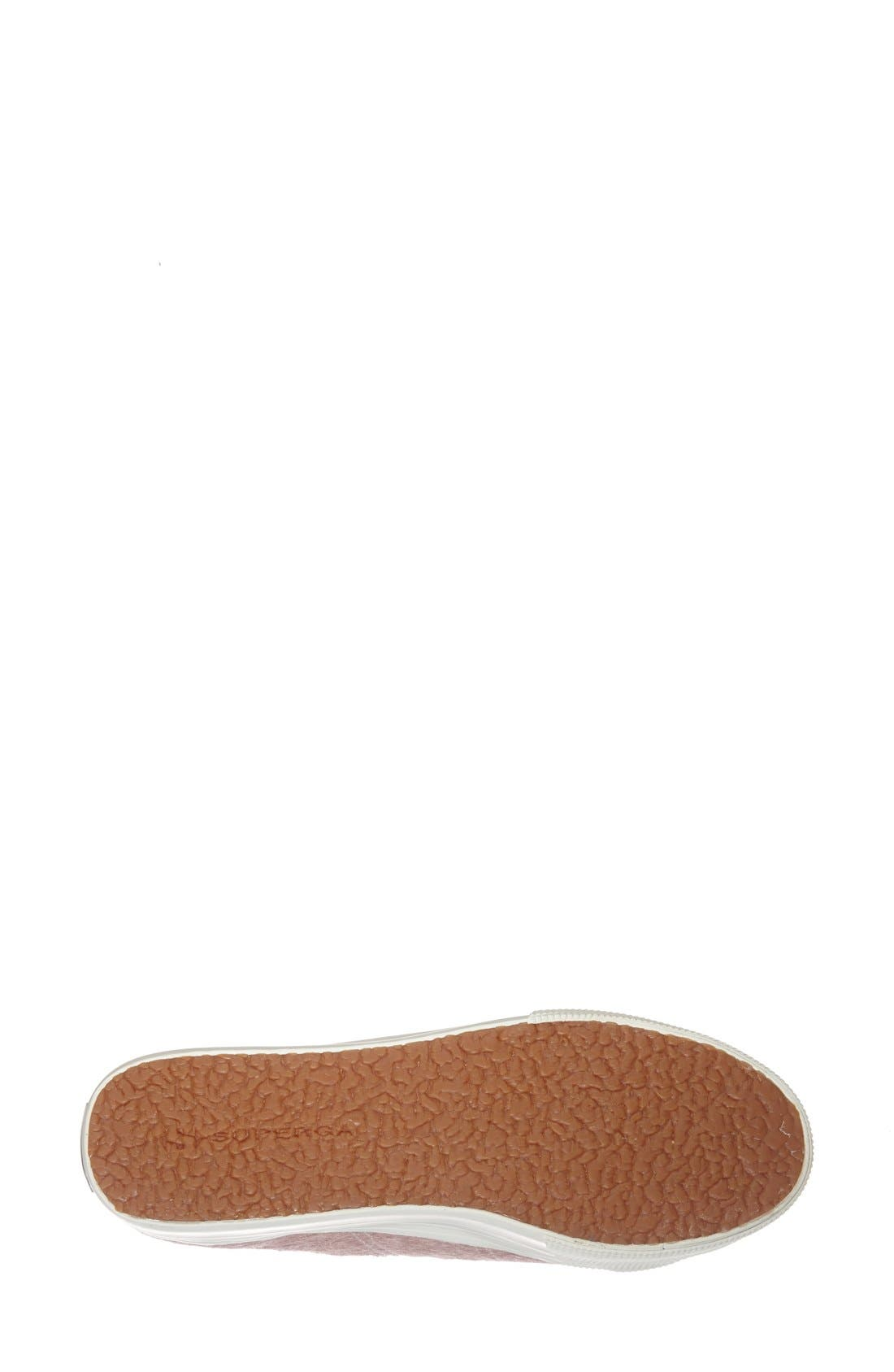Alternate Image 4  - Superga Calf Hair Lace Up Sneaker (Women)