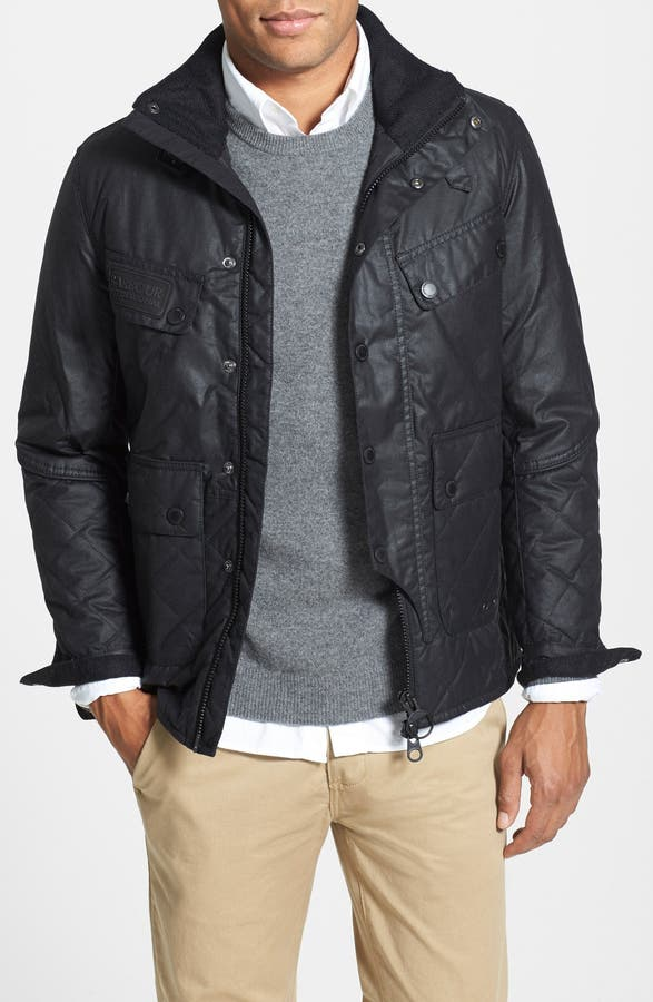 Barbour 'Trail' Quilted Waxed Cotton Jacket | Nordstrom : barbour quilted waxed jacket - Adamdwight.com
