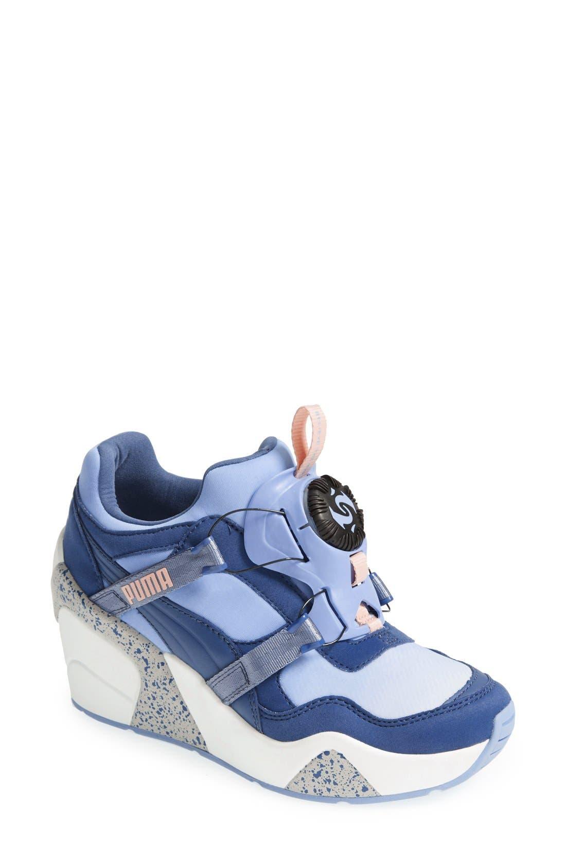 Alternate Image 1 Selected - PUMA 'Disc Trinomic - Sophia Chang' Wedge Sneaker (Women)