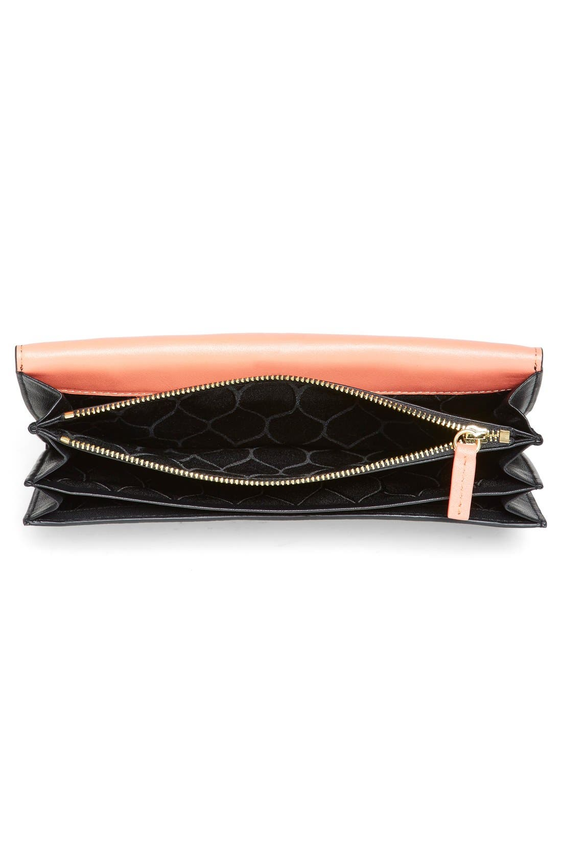 Alternate Image 3  - KENZO 'Raindrop' Leather Clutch