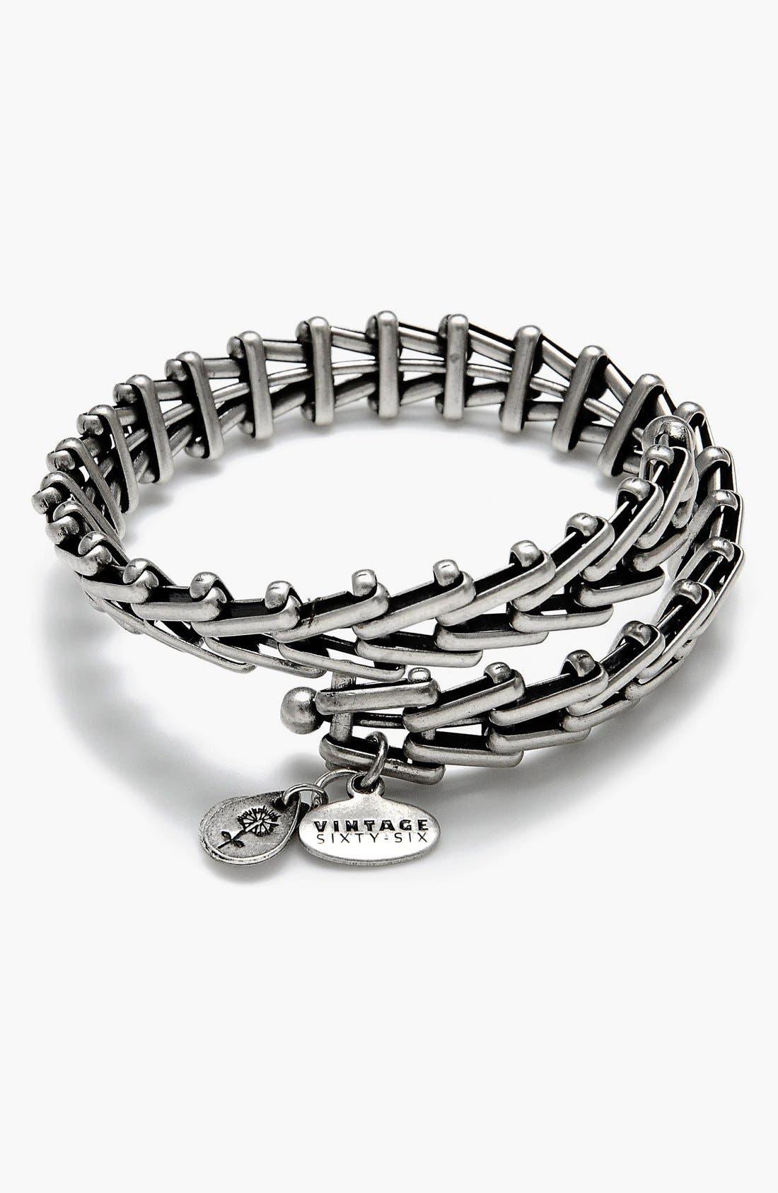 Main Image - Alex and Ani 'Gypsy 66' Wrap Bracelet