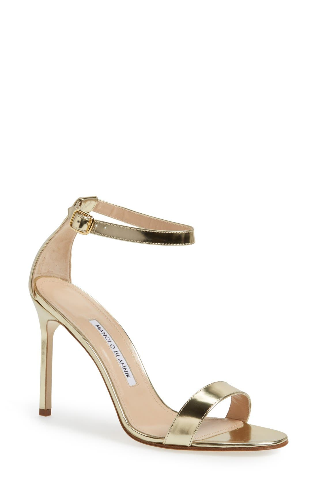Alternate Image 1 Selected - Manolo Blahnik 'Chaos Cuff' Sandal (Women)