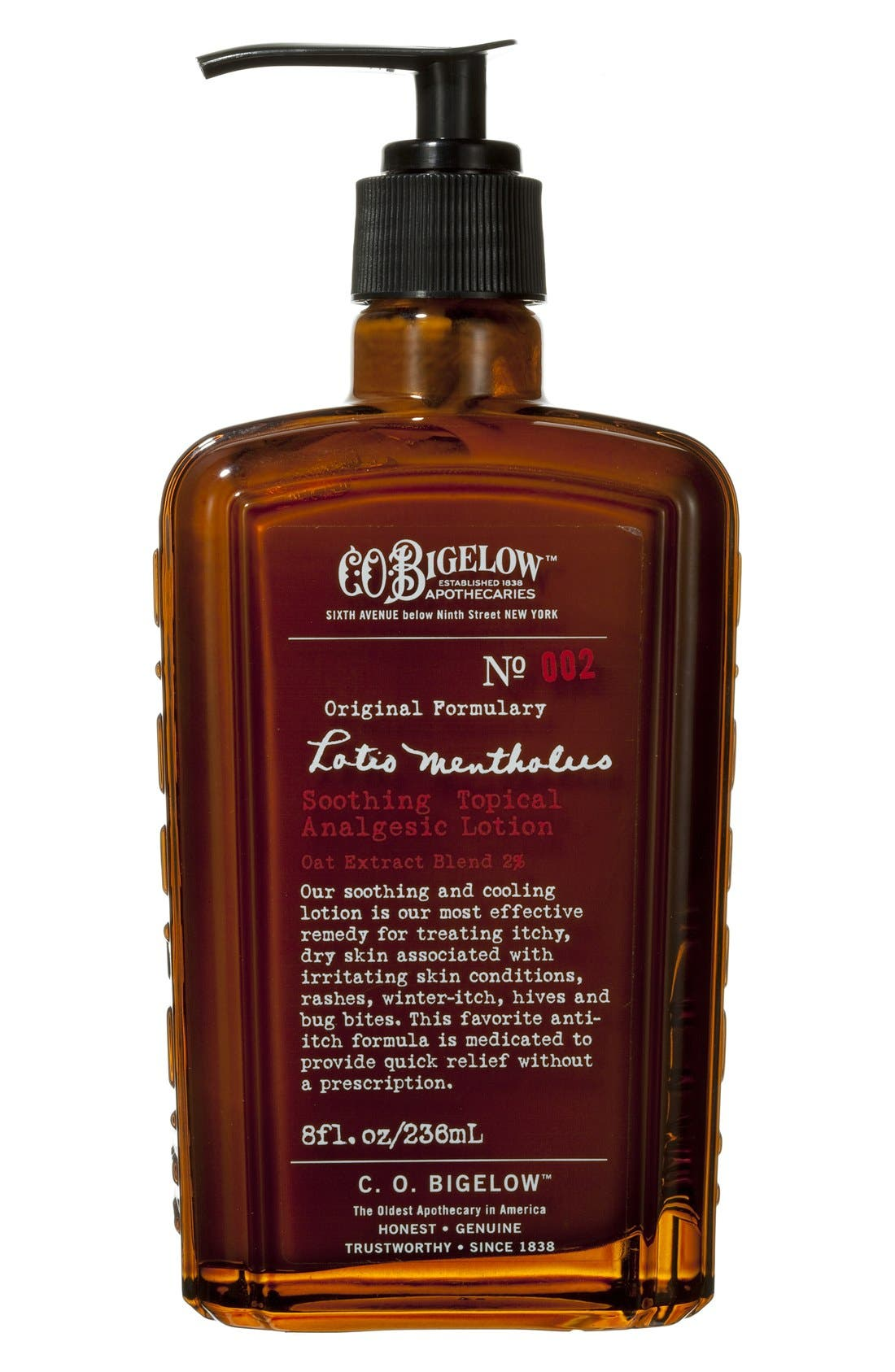 C.O. Bigelow® 'Lotio Mentholus' Soothing Topical Analgesic Lotion