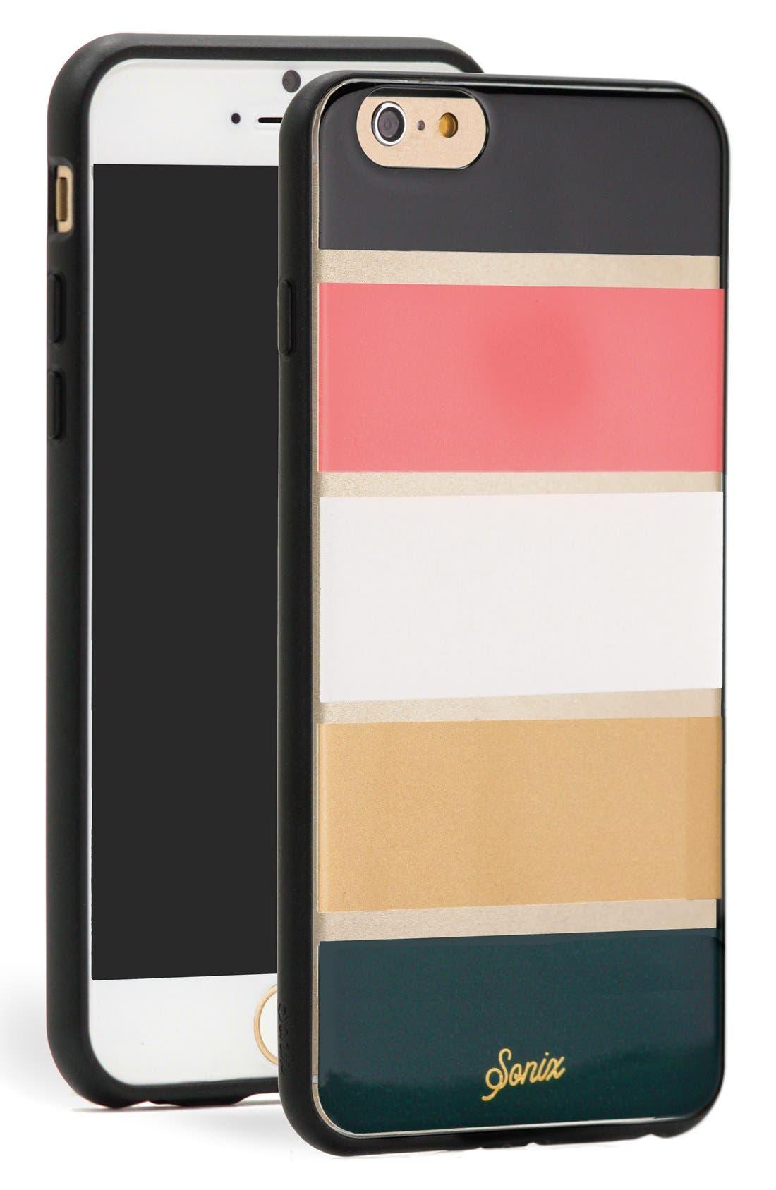Alternate Image 1 Selected - Sonix 'Stripe Autumn' iPhone 6 Plus Case