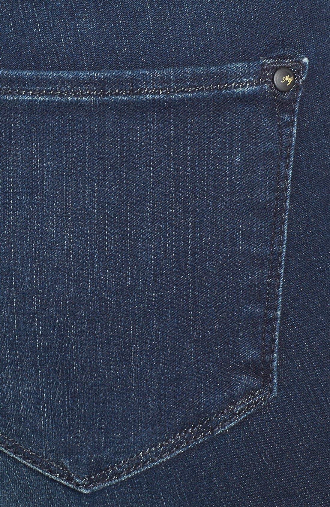 Alternate Image 3  - Mavi Jeans Gold 'Alexa' Stretch Skinny Jeans (Deep Reform)